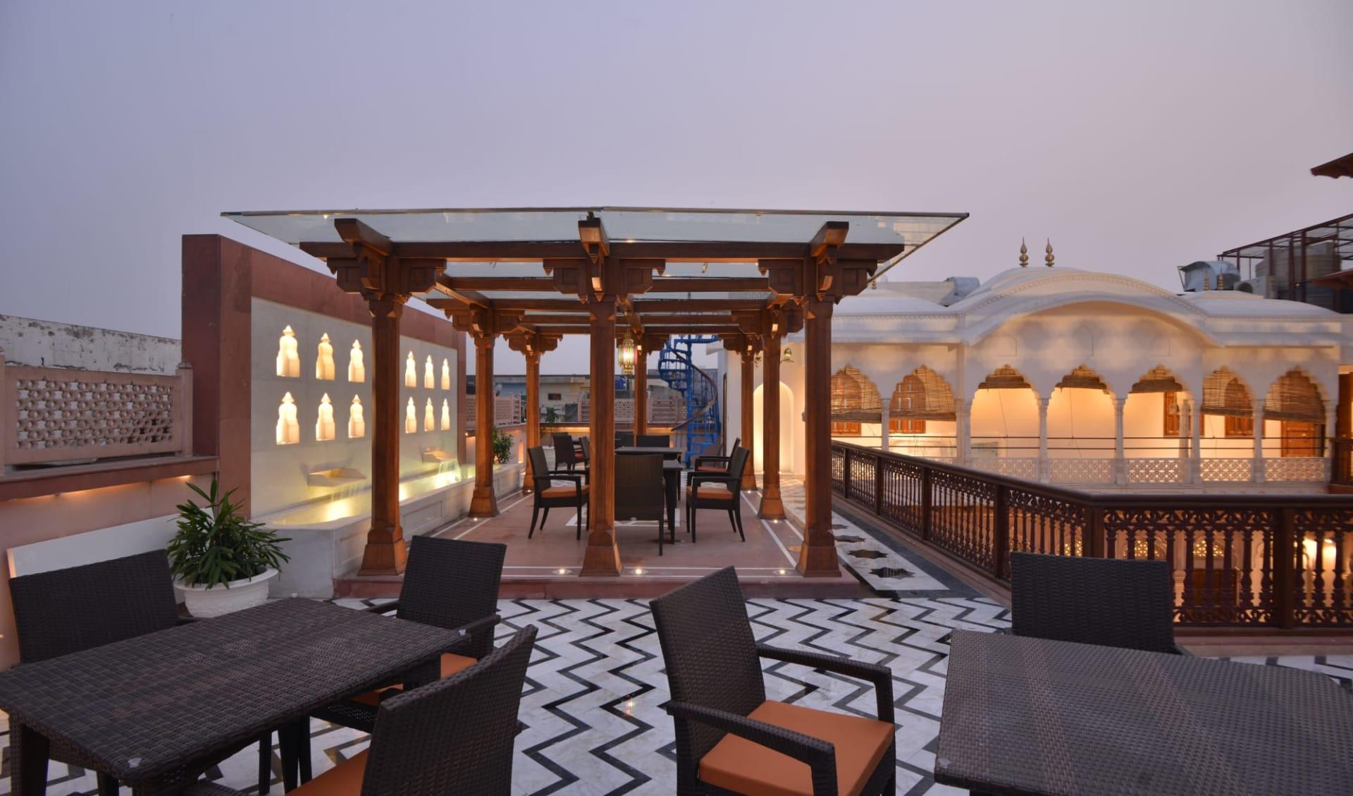 Haveli Dharampura in Delhi: Terrace