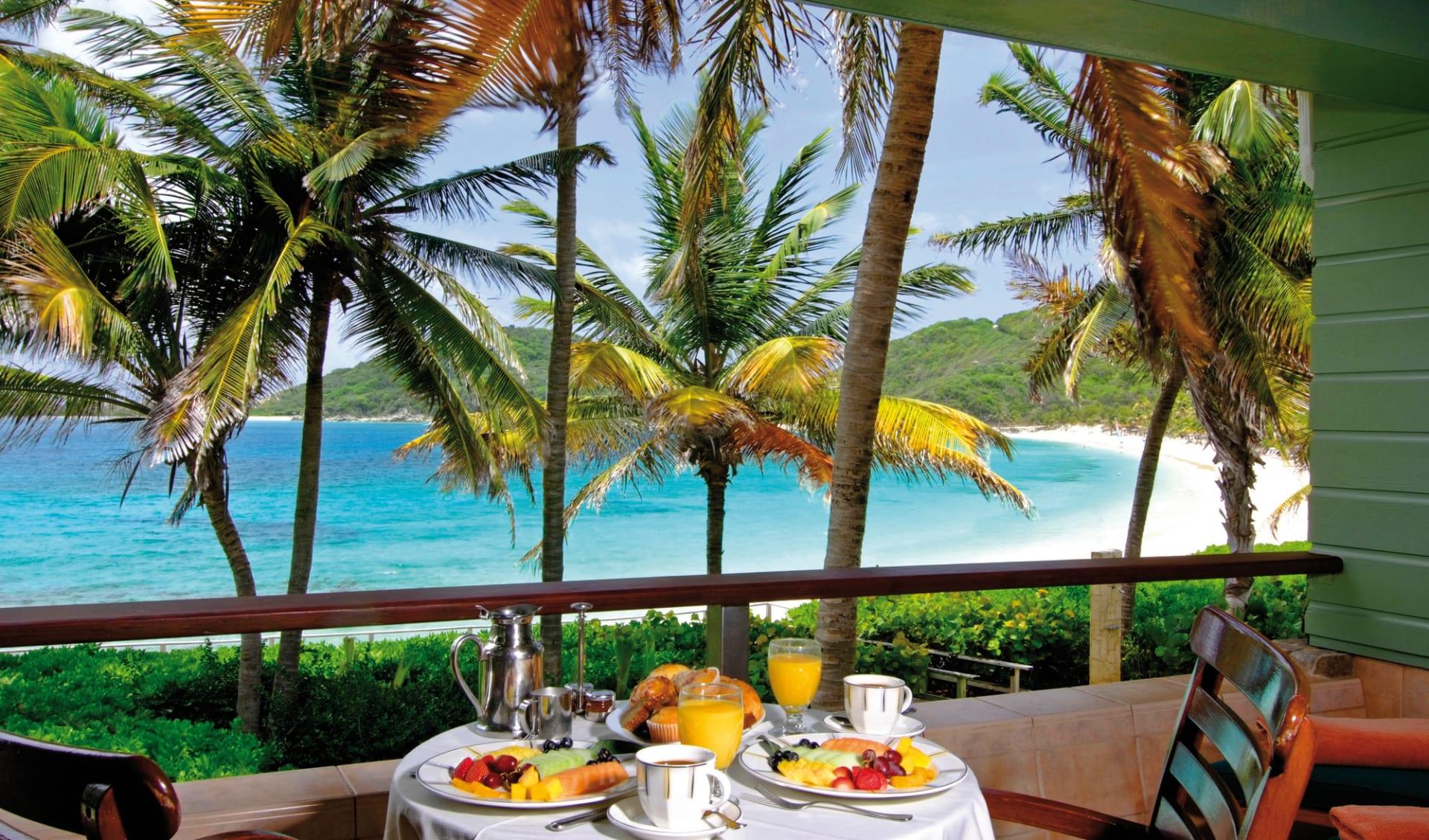 Peter Island Resort & Spa: fb peter island resort tisch essen meer