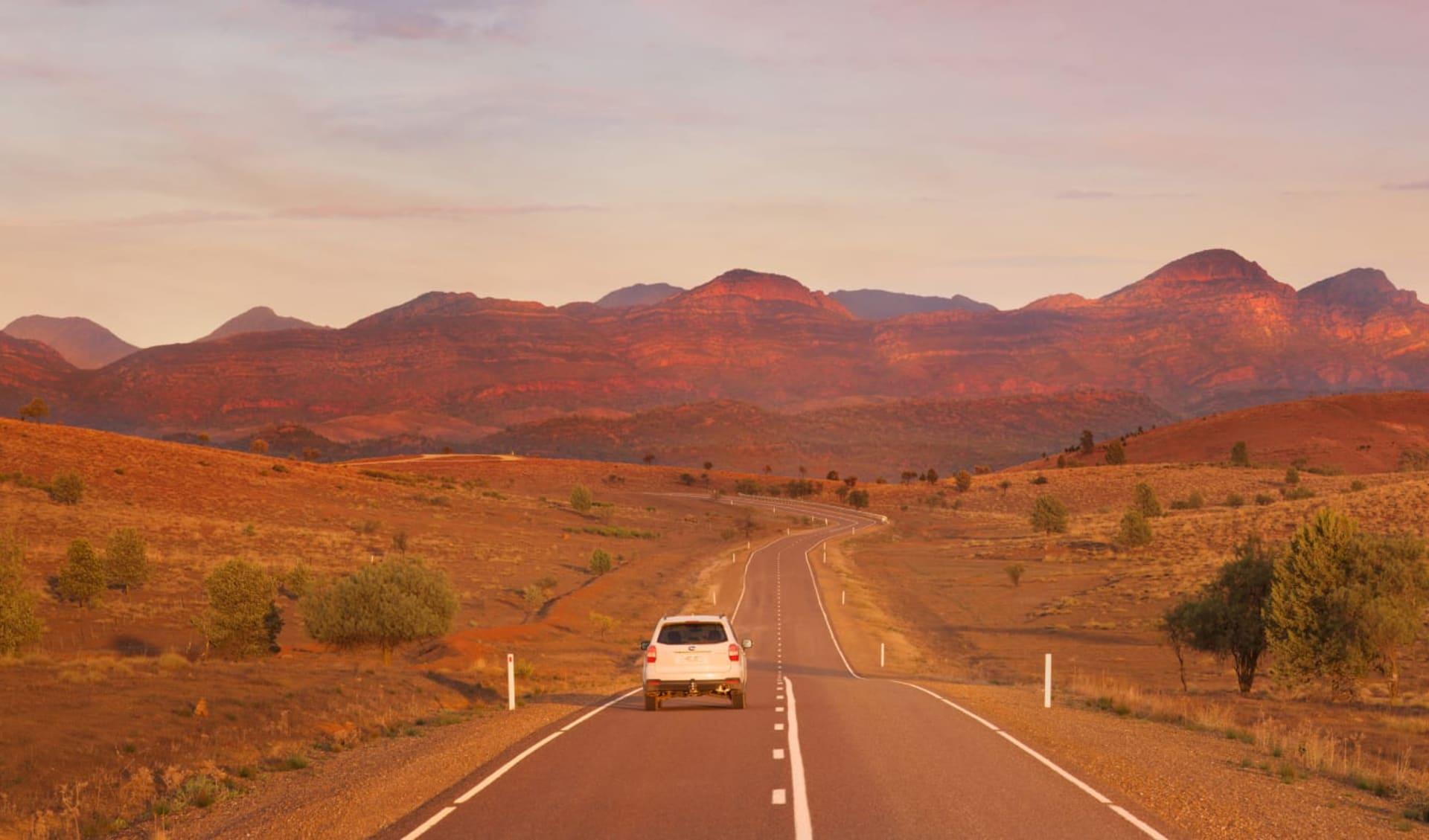 Explorers Way ab Darwin: Flinders Ranges