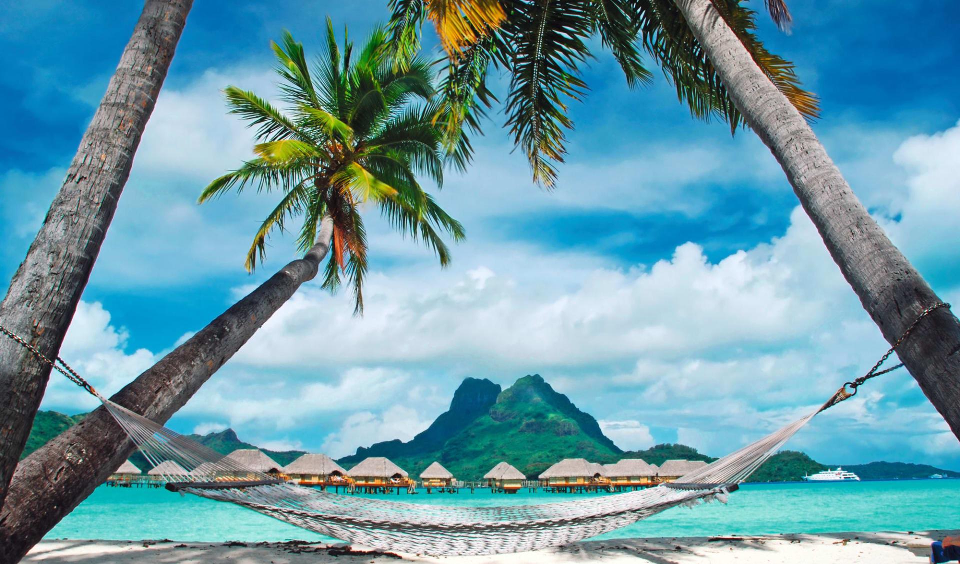 Traumhafte Südsee-Inseln ab Papeete: Bora Bora, Mont Otemanu