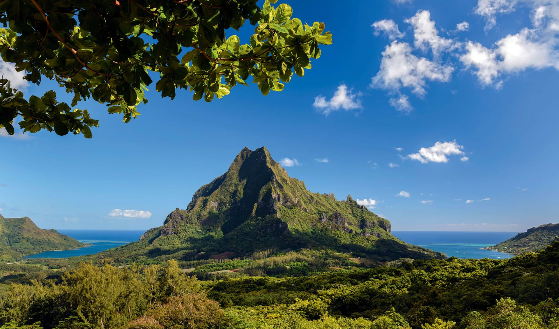 Island Hopping ab Papeete: Französisch Polynesien - Moorea - Mont Rotui