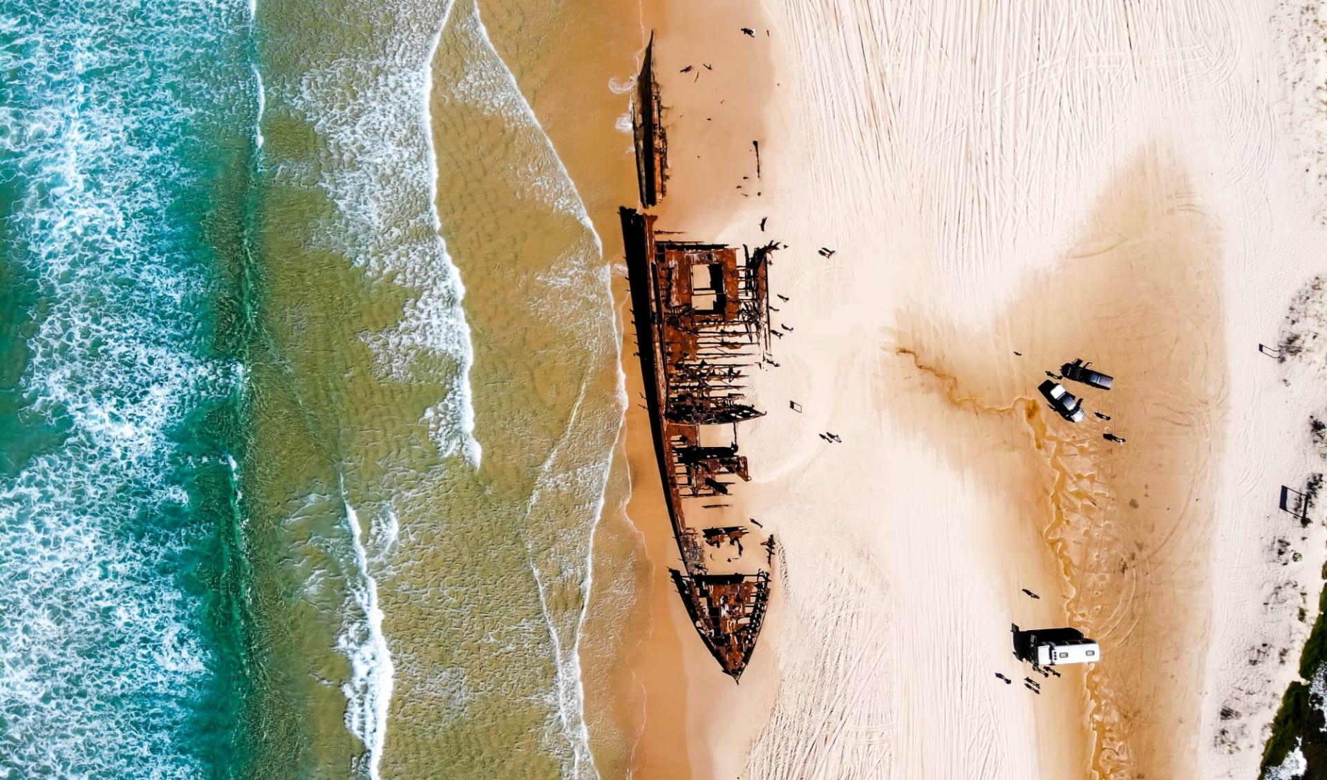 East Coast Encompassed ab Sydney: Fraser Island
