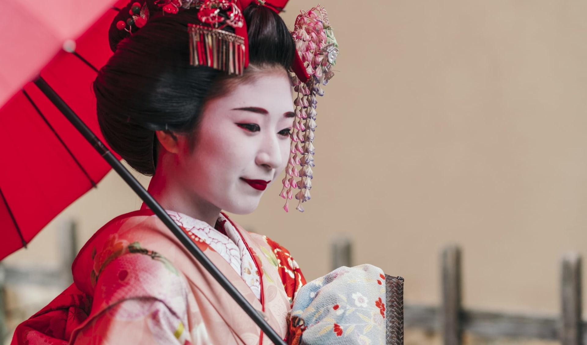 Gruppenreise «Geisha» ab Tokio: Geisha Portrait