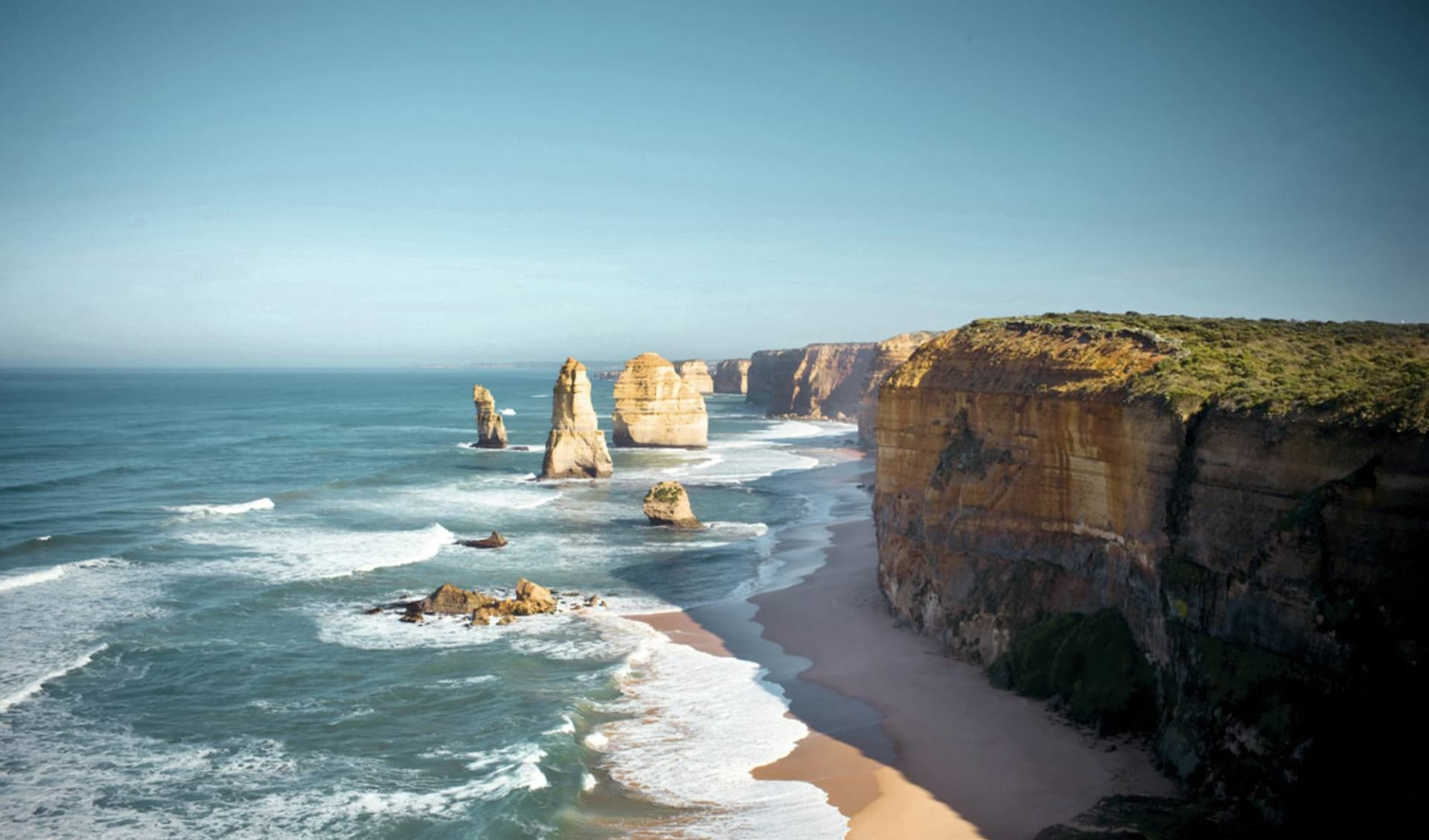 Great Ocean Road ab Melbourne: Great Ocean Road - 12 Apostles Sunshine