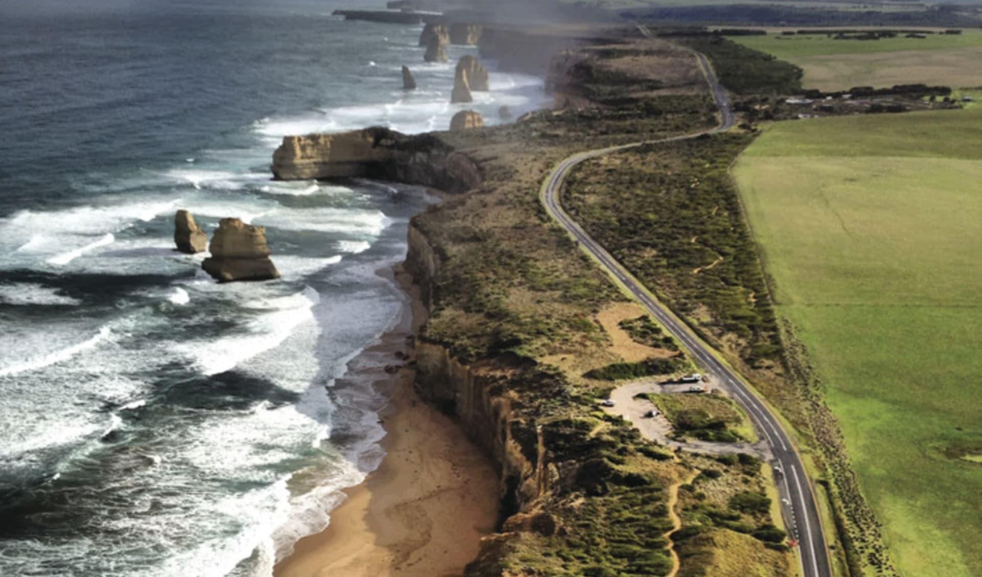 Magic Beauty ab Melbourne: Great Ocean Road - 12 Apostles und Strasse