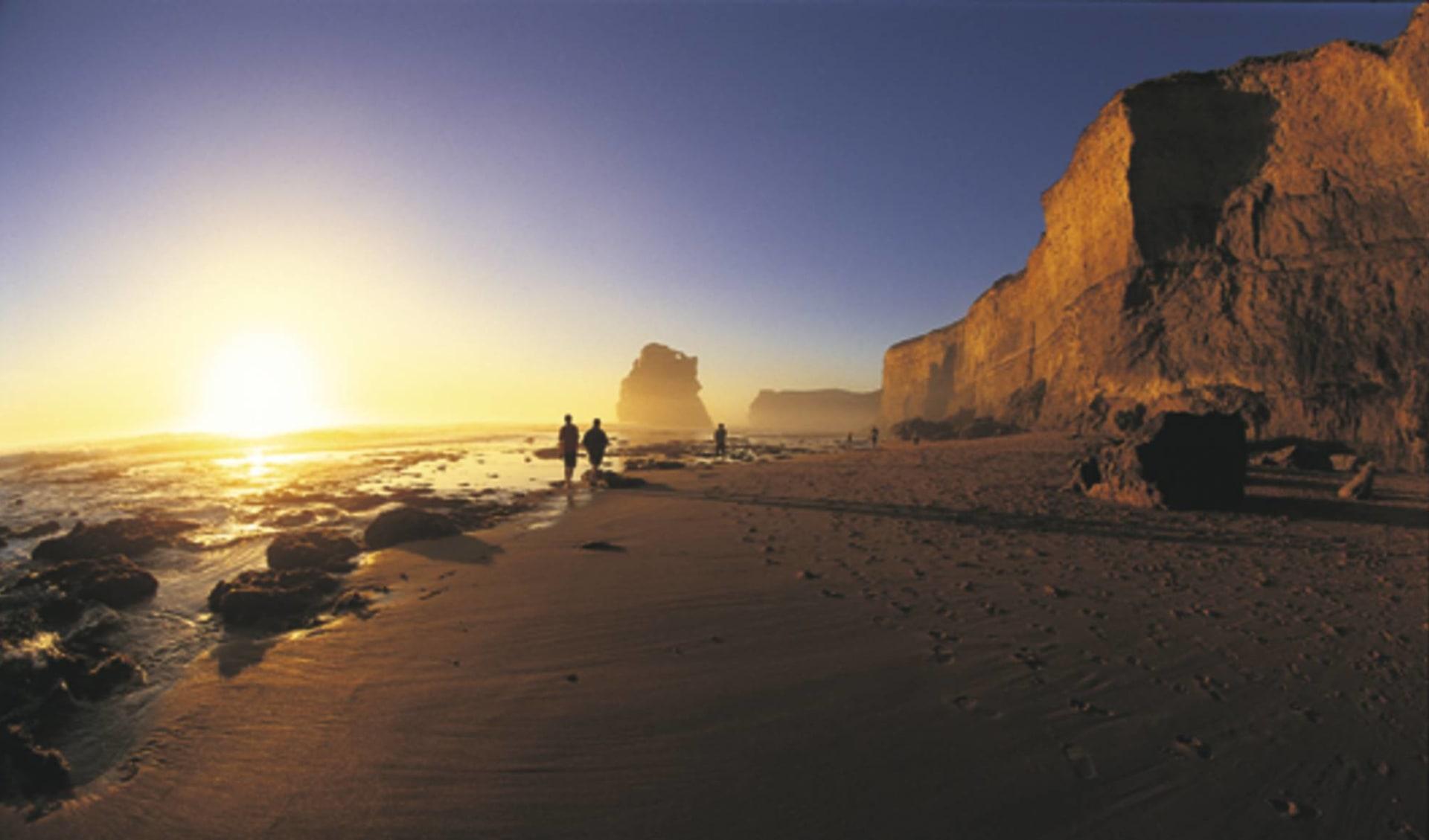 Twelve Apostles Lodge Walk ab Melbourne: Great Ocean Road - Strand