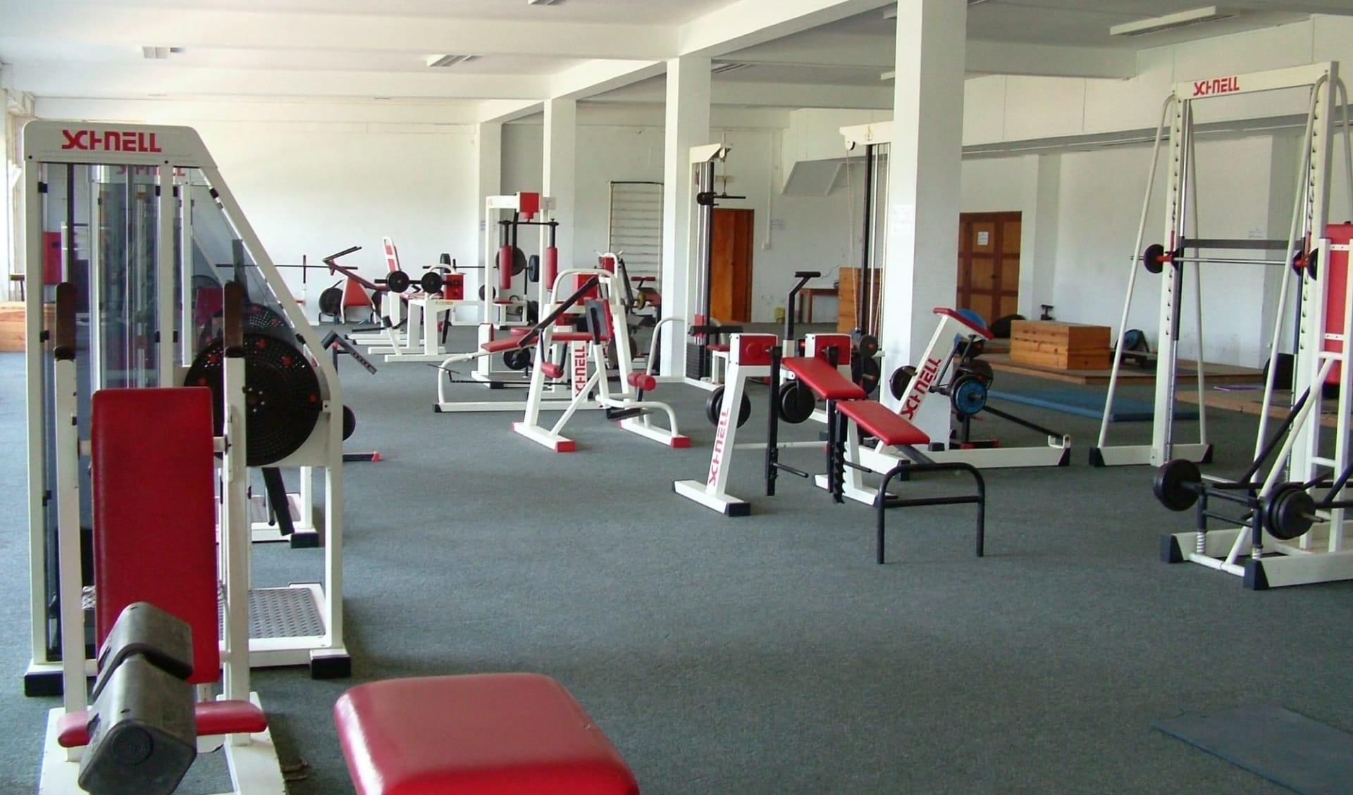 Albufeira - Alfamar Beach & Sport Resort ab Vilamoura: Gym Sports Center
