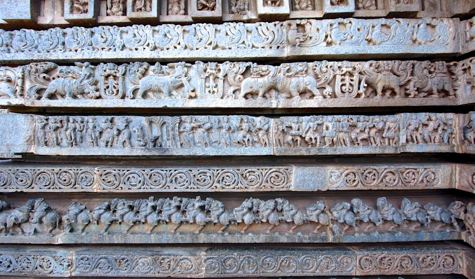 Vielfältiges Südindien ab Kochi: Halebid: Temple details