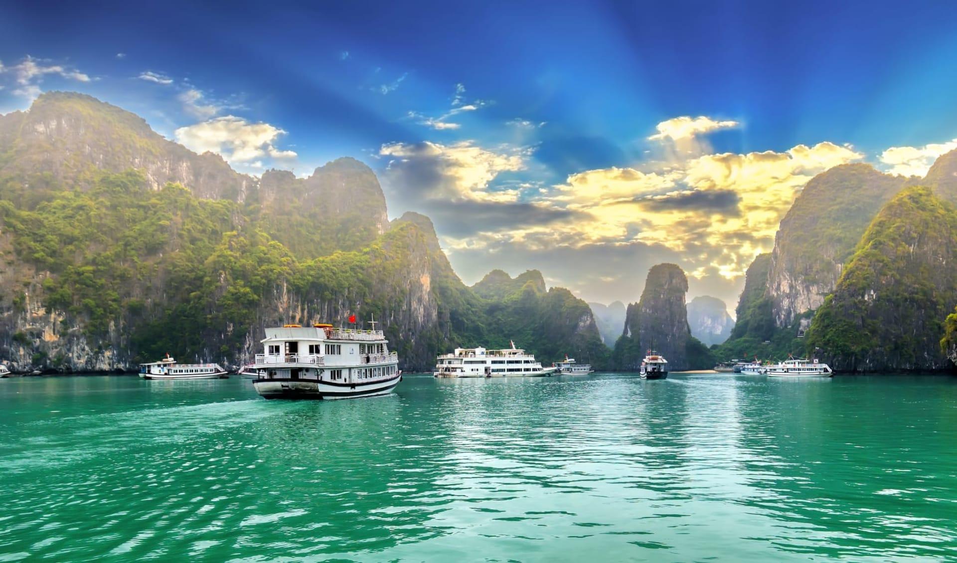 Höhepunkte Vietnams ab Hanoi: Halong Bay