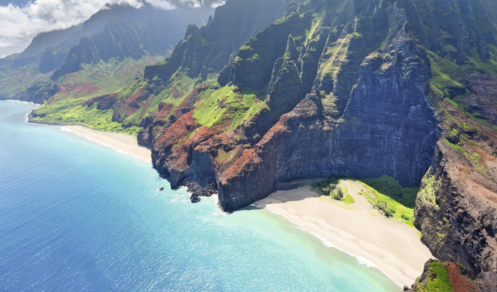 Hawaii Island Hopping ab Honolulu - Oahu: Hawaii - Kauai - Napali Coast