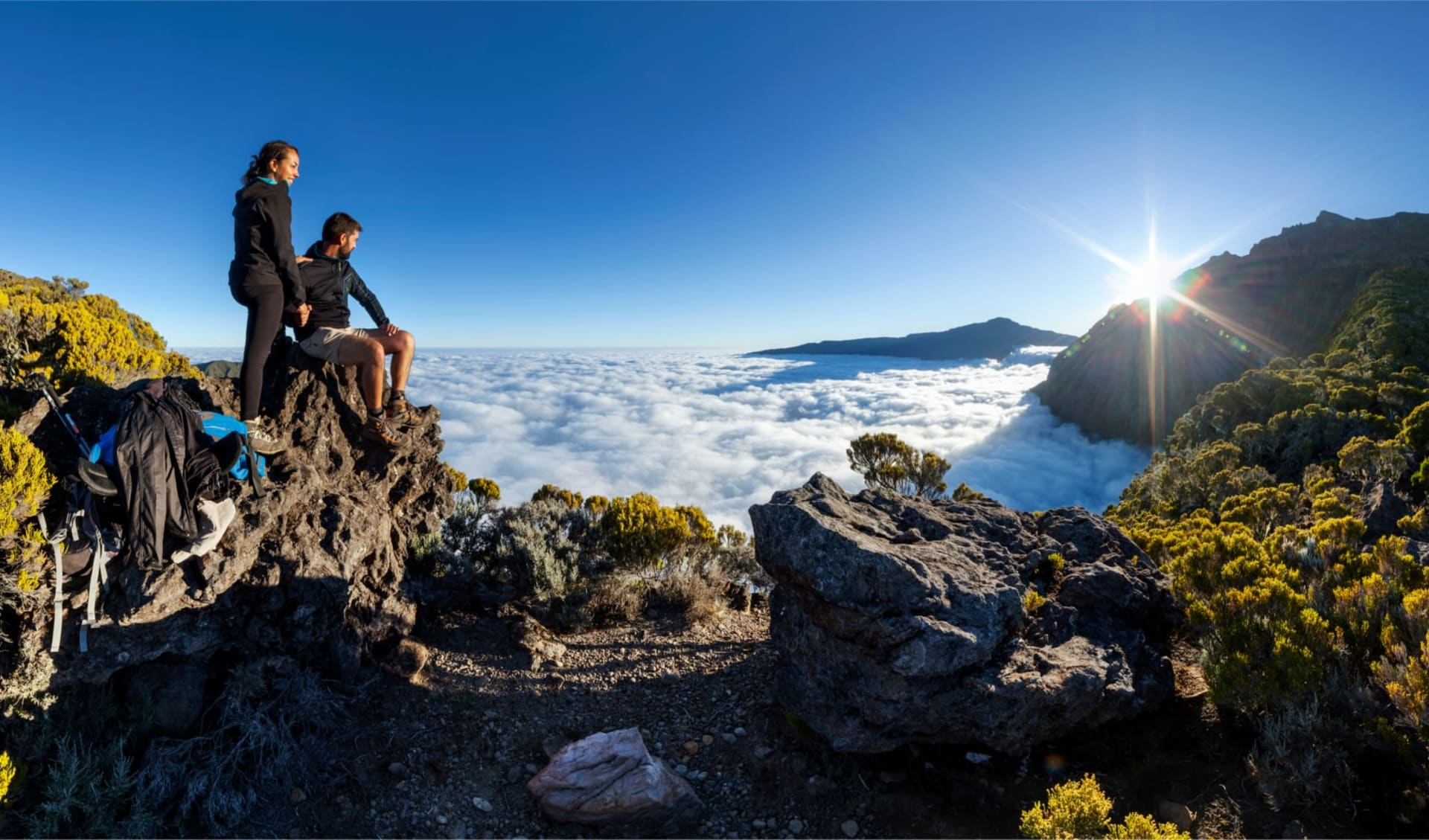 The Great Hike Adventure ab Saint-Gilles: Hike Piton des Neiges