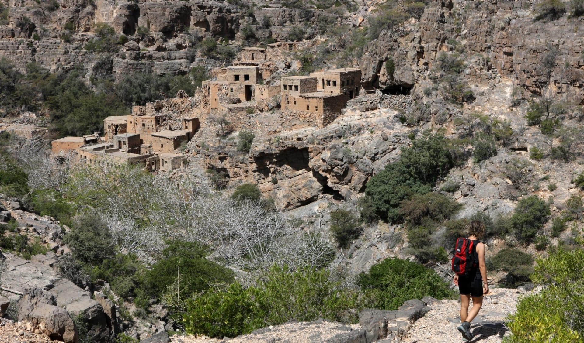 Oman Aktiv ab Muscat: Hiking in Oman