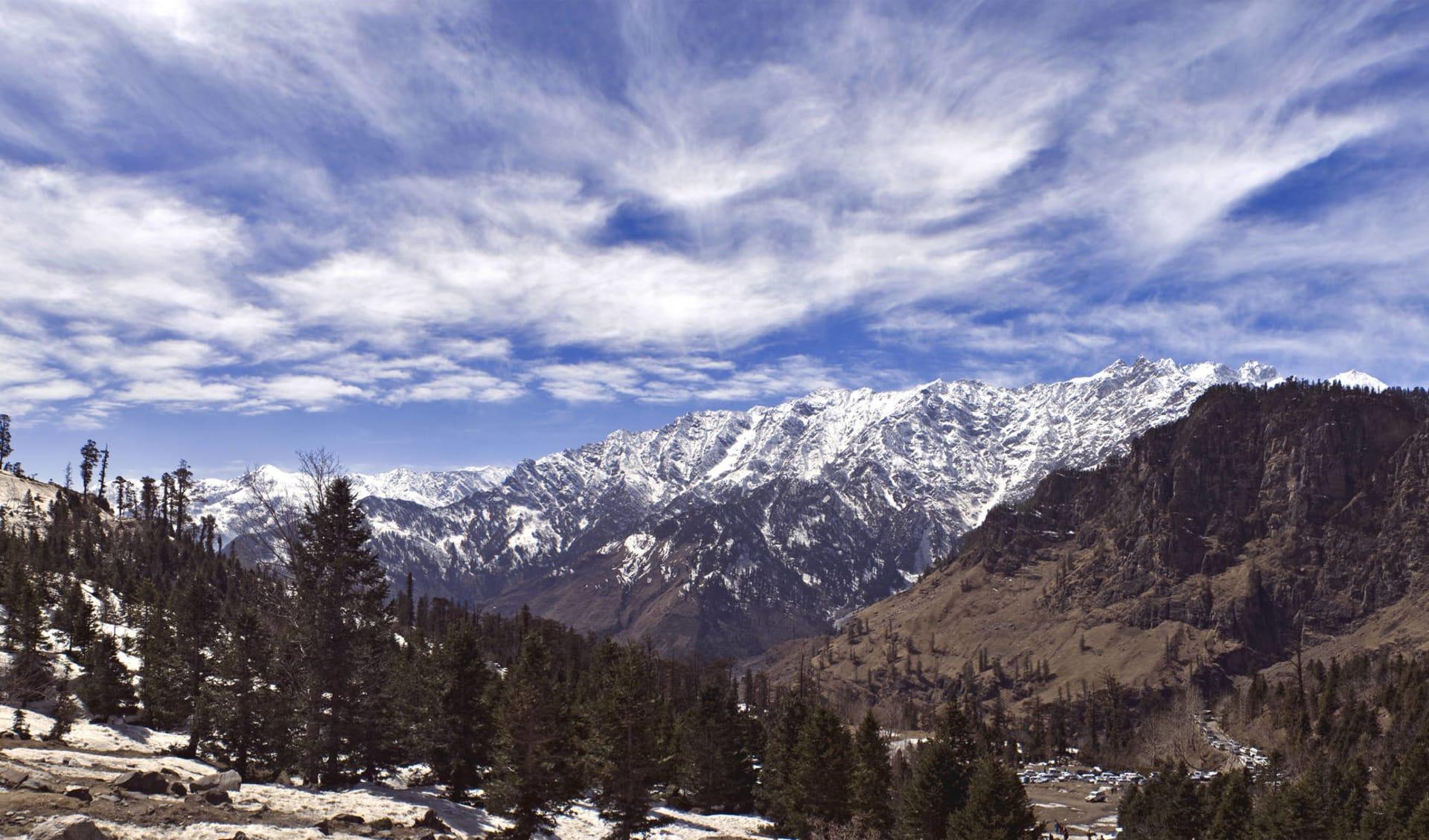 Am Fusse des Himalaya ab Delhi: Himalaya: Manali