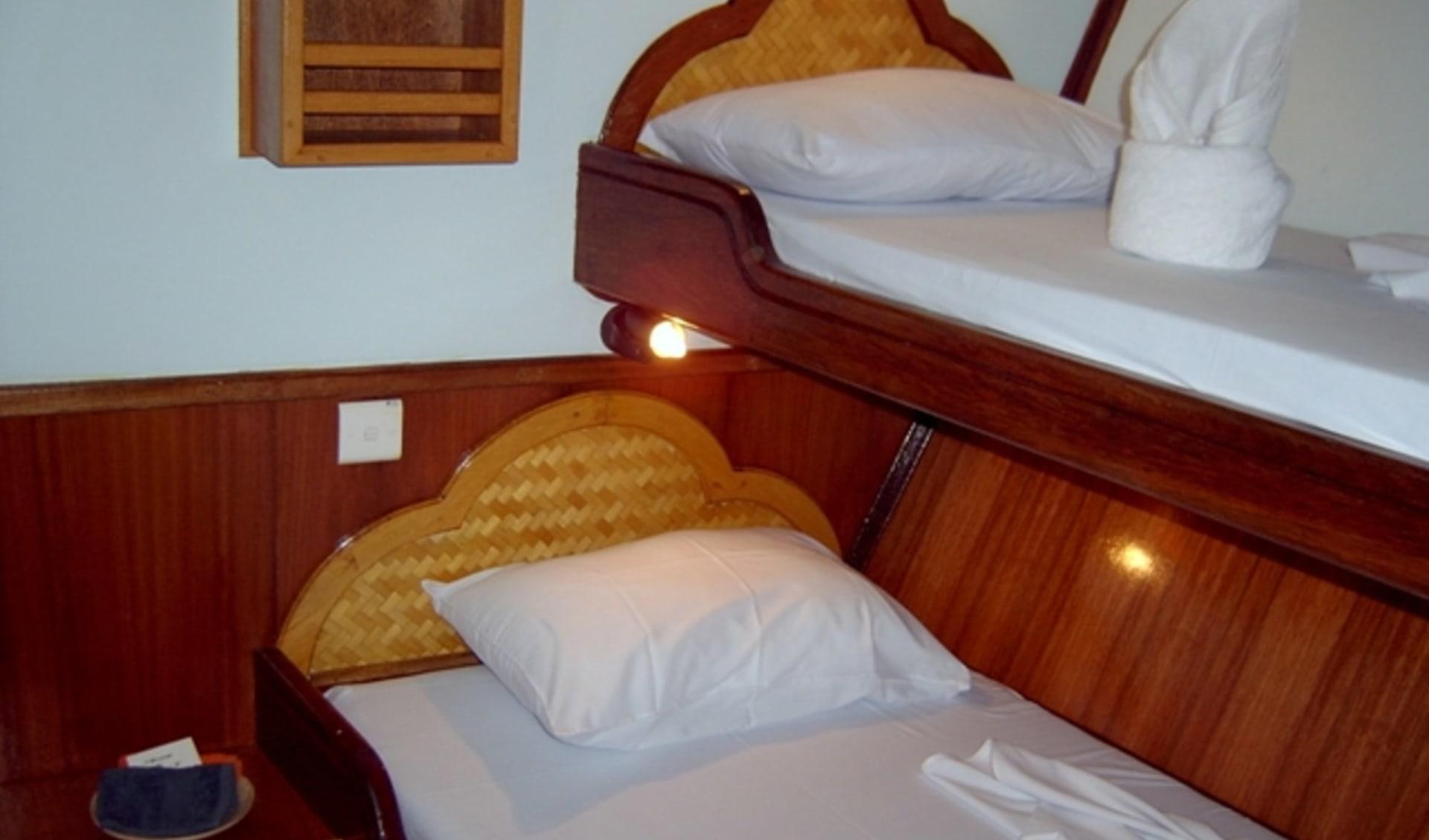 Surfen auf perfekten Wellen / Horizon II ab Malé: Horizon II Cabin 3