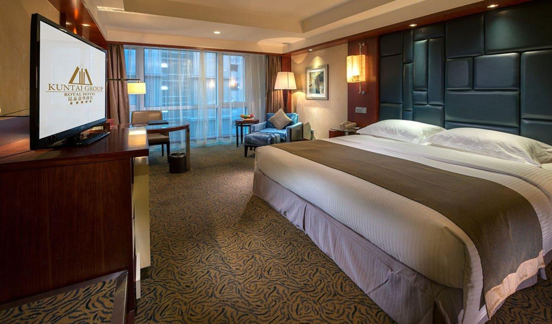 Hotel Kuntai Royal in Peking: Hotel Kuntai BJS deluxe-room