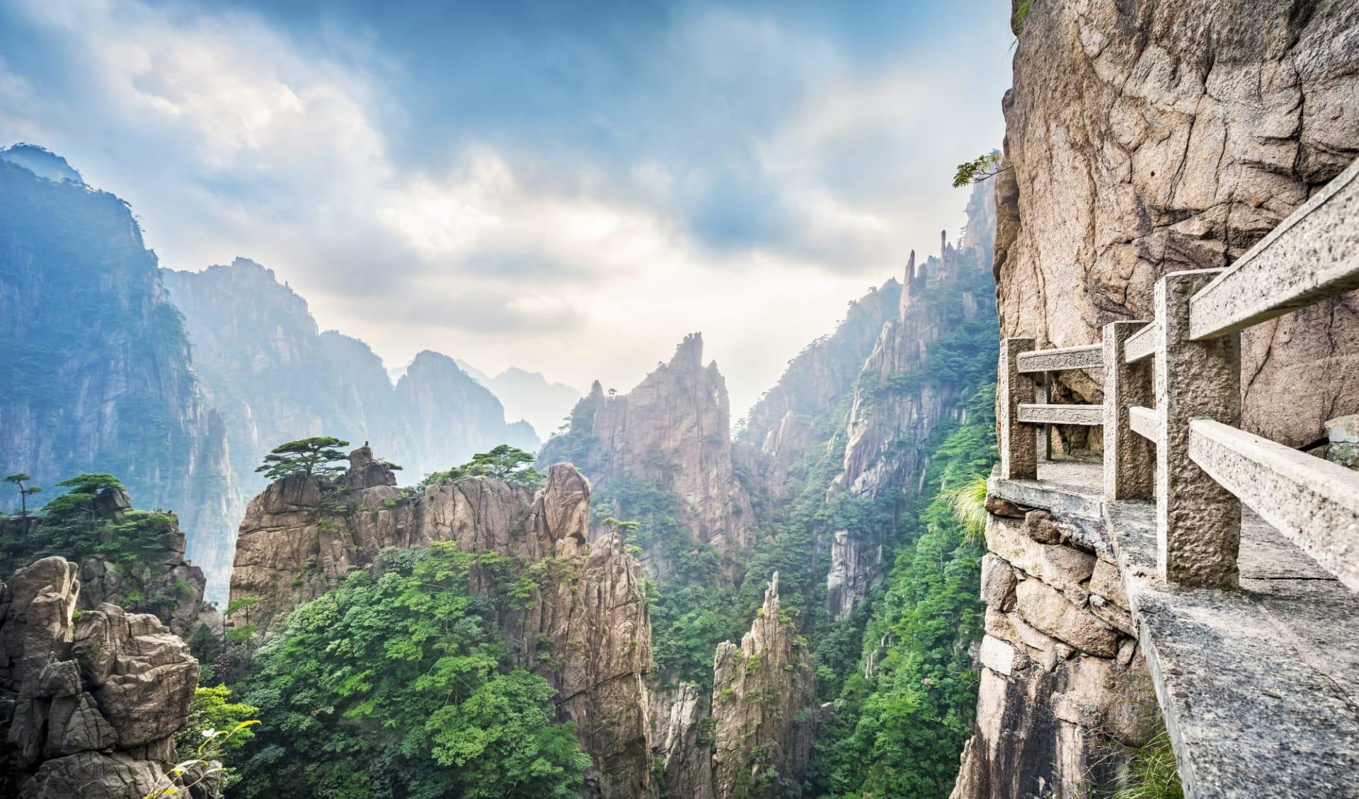 Huang Shan - der gelbe Berg ab Shanghai: Huang Shan (Yellow Mountains)