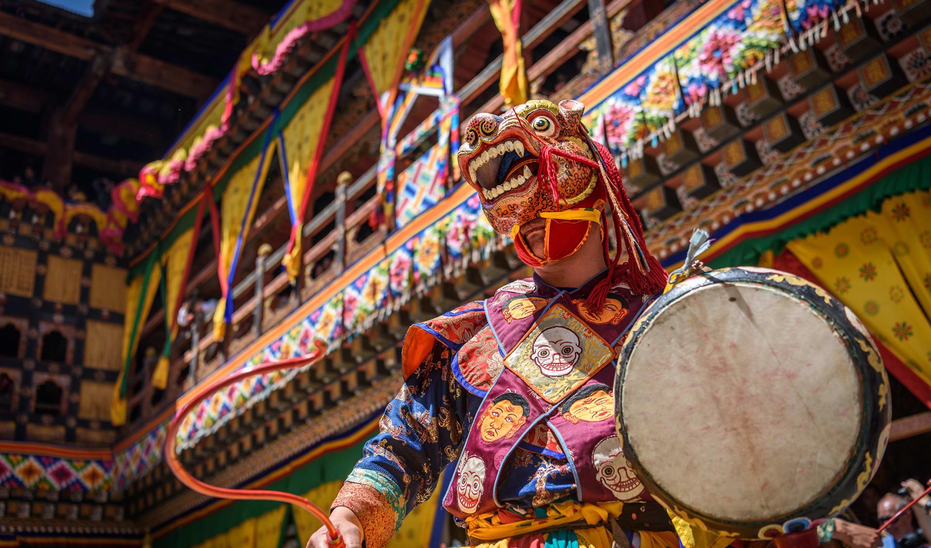 Kloster, Bhutan