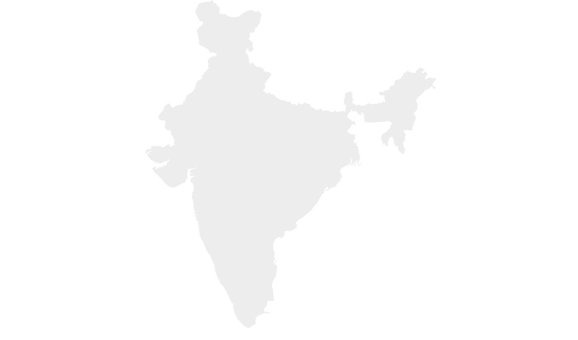 Karte Rundreisen Südindien