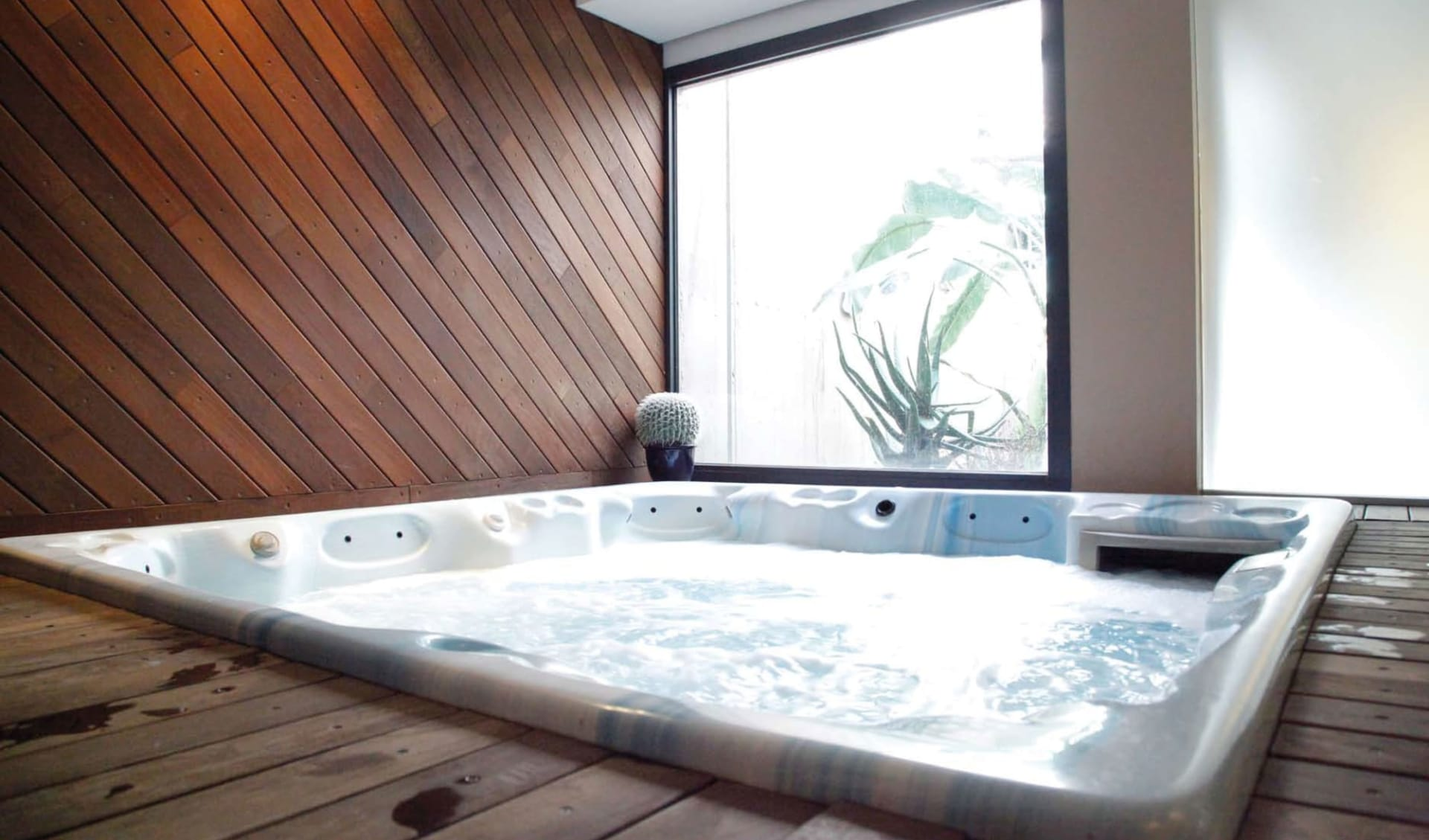 Gardasee - Yachting Hotel Minestral: Jacuzzi