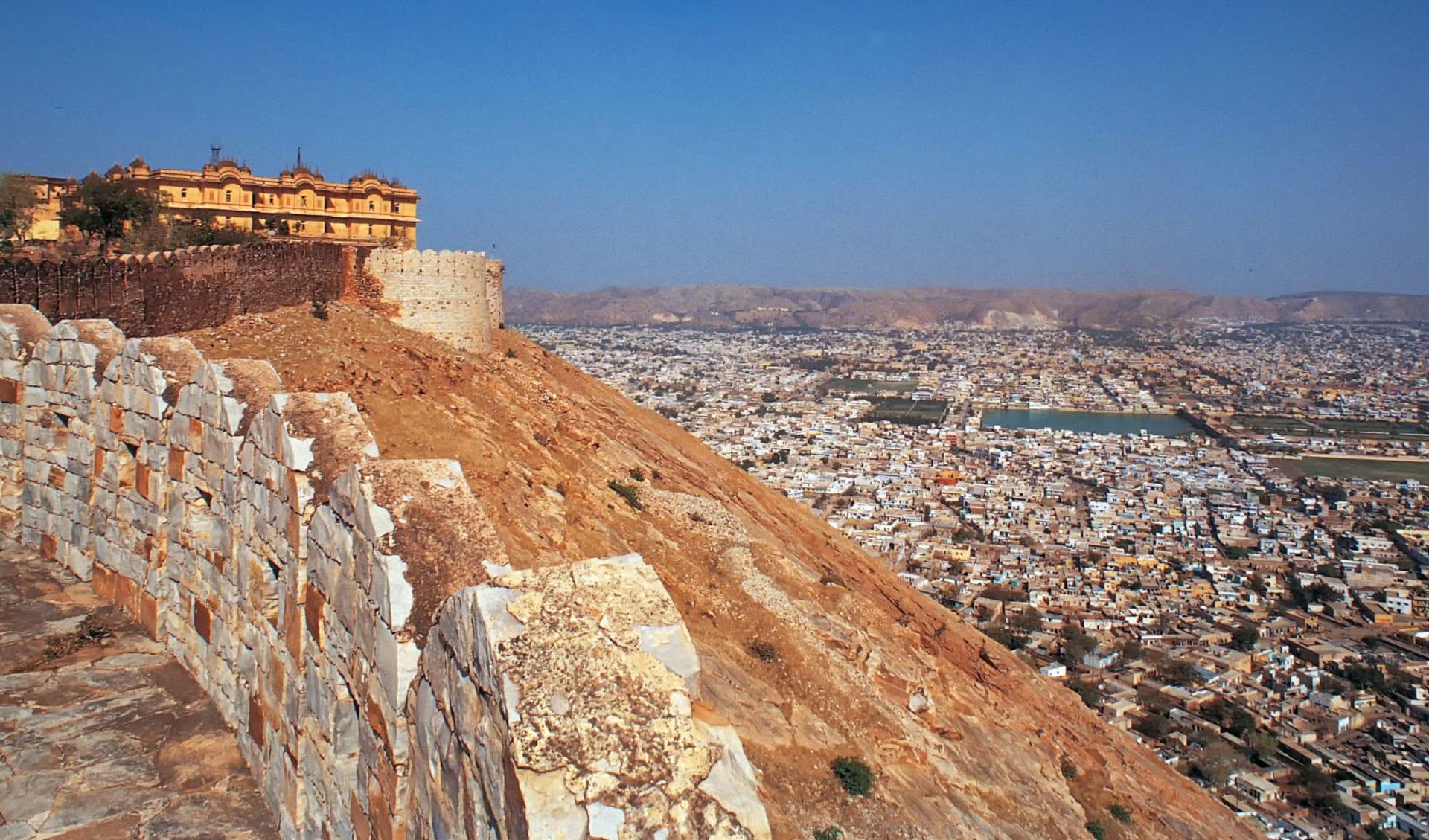 Reise zum heiligen Ganges ab Delhi: Jaipur: City View
