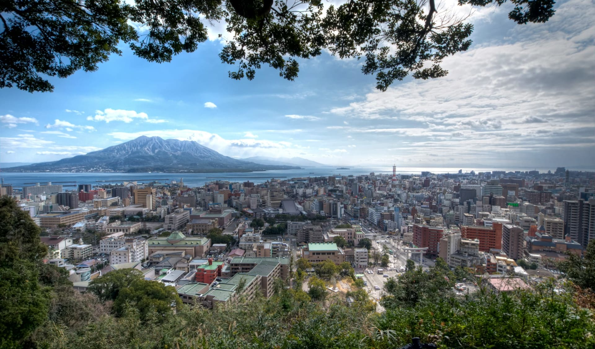 Höhepunkte Japans mit Verlängerung ab Tokio: Kagoshima city with Sakurajima Volcano