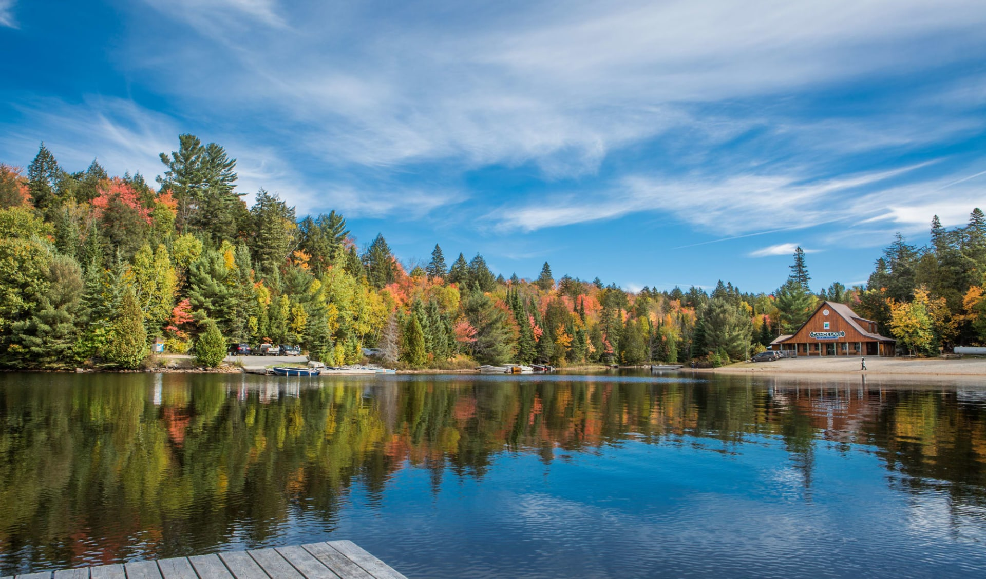 Ostkanada Highlights 9 Tage ab Toronto: Kanada - Algonquin Provincial Park - Aussicht auf See