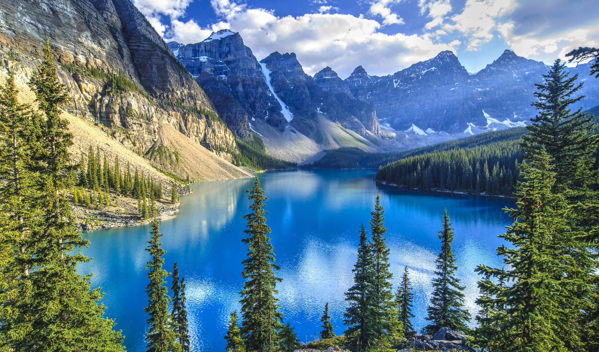 Wanderrundreise von Lodge zu Lodge ab Calgary: Moraine Lake