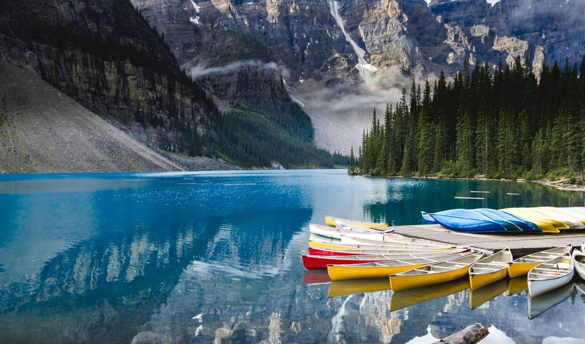 Le meilleur de Banff et Jasper: Banff Nationalpark - Moraine Lake
