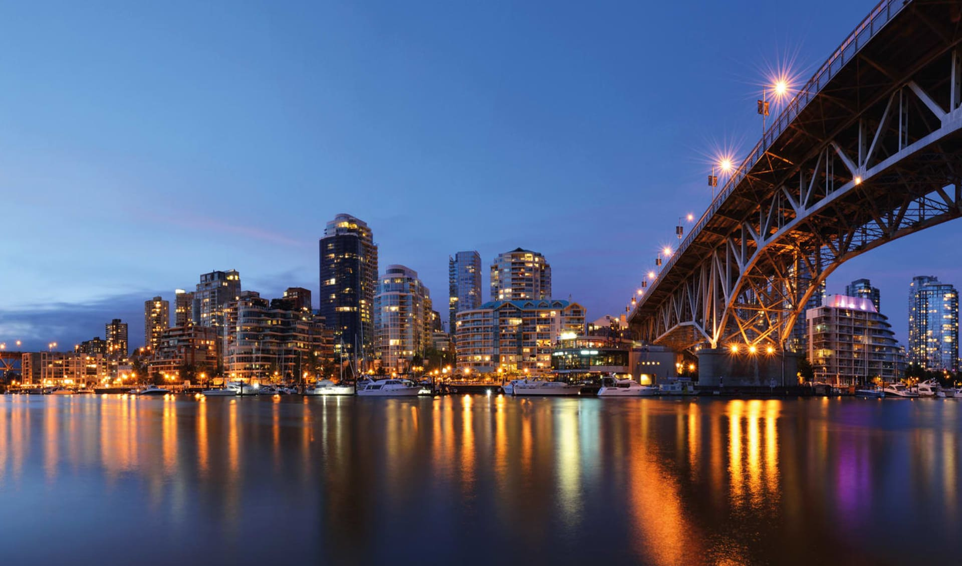 Pacific Coast Explorer ab Vancouver: Vancouver Skyline