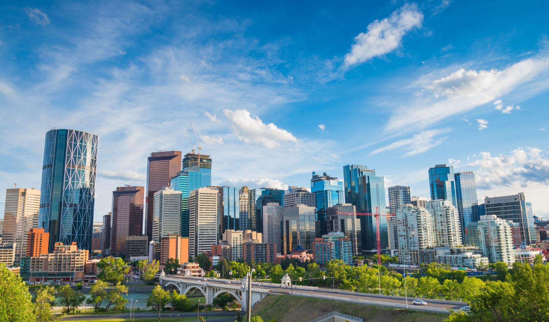 Abenteuer Northwest Territories ab Edmonton: Kanada - Calgary - Skyline