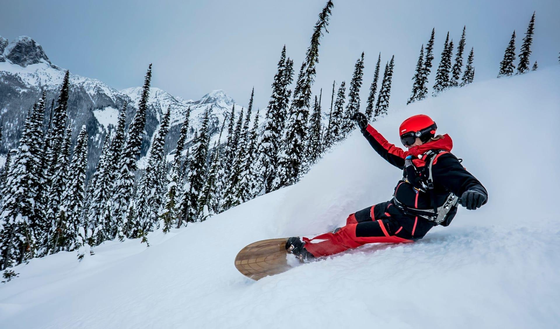 Galena 7 Tage (CMH) ab Kelowna: Kanada - CMH - Galena - Snowboarder