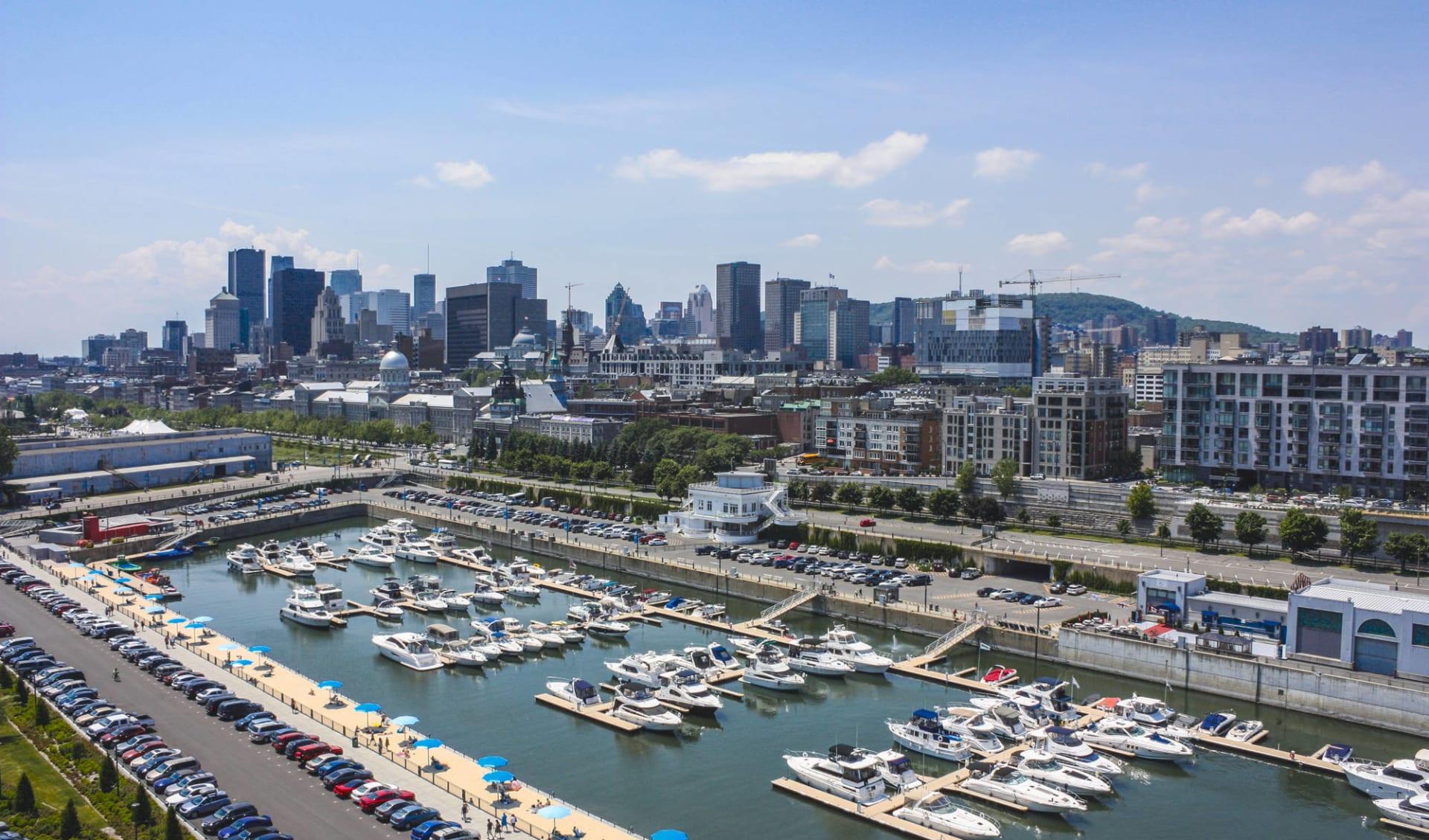 Kanadische Kontraste ab Toronto: Kanada - Montreal - Old Port Downtown