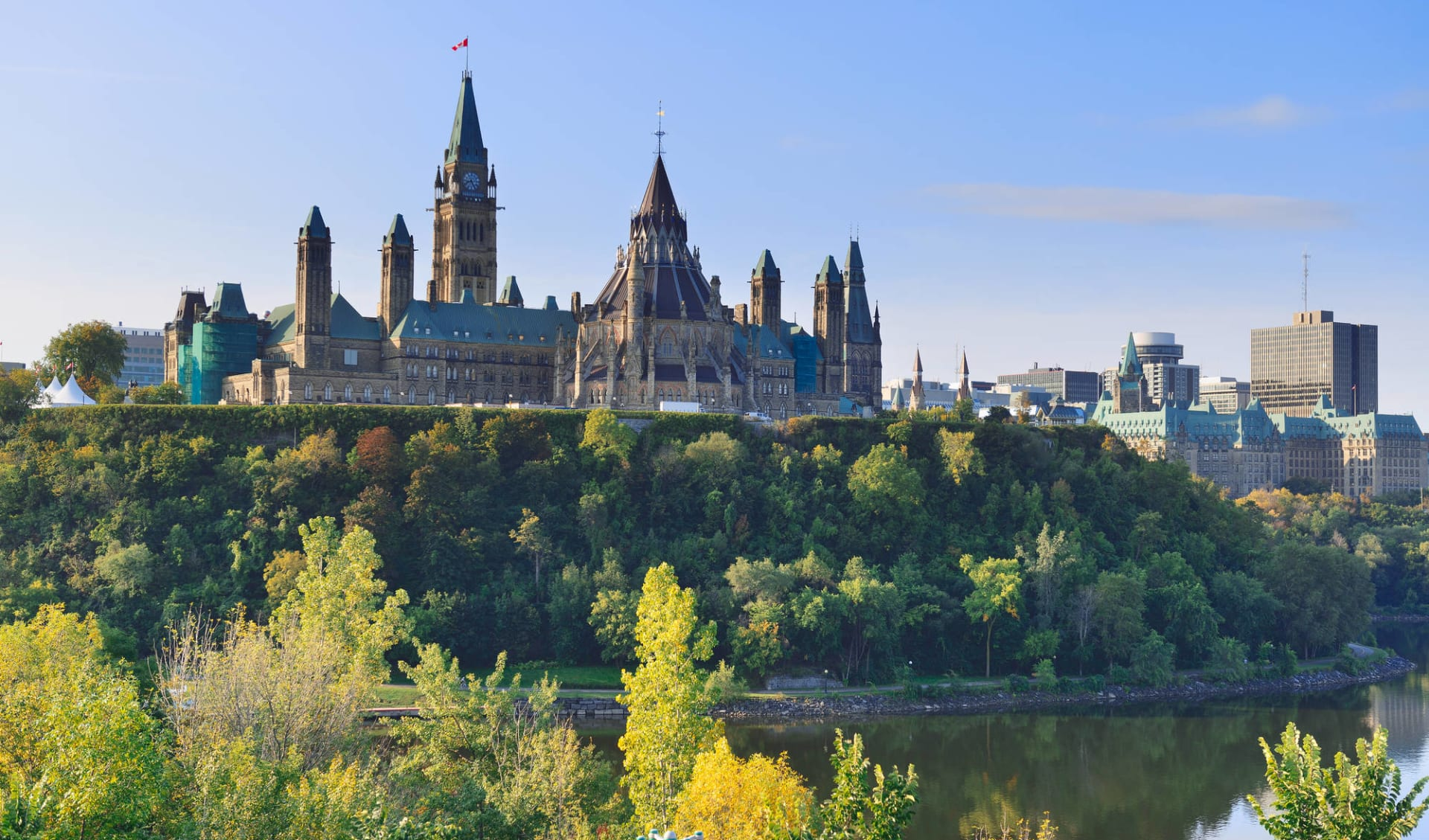 Höhepunkte Ostkanadas ab Toronto: Kanada - Ottawa - kanadisches Parlament