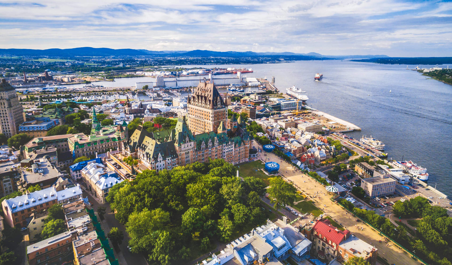 Eastern Highlights ab Boston: Kanada - Quebec City - Chateau Frontenac Umgebung