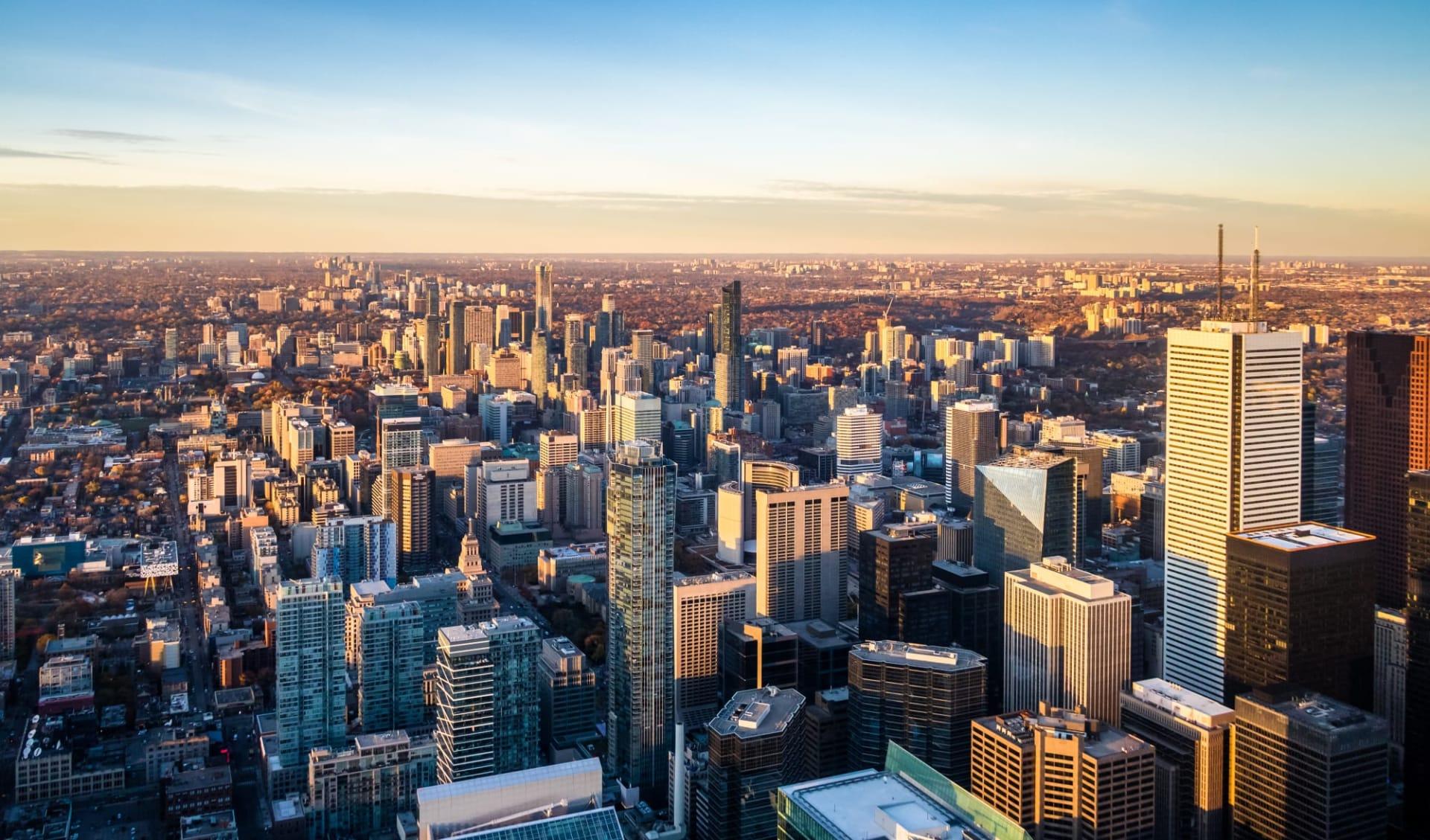 Geführte Bahnerlebnisreise - Goldener Ahorn ab Toronto: Toronto