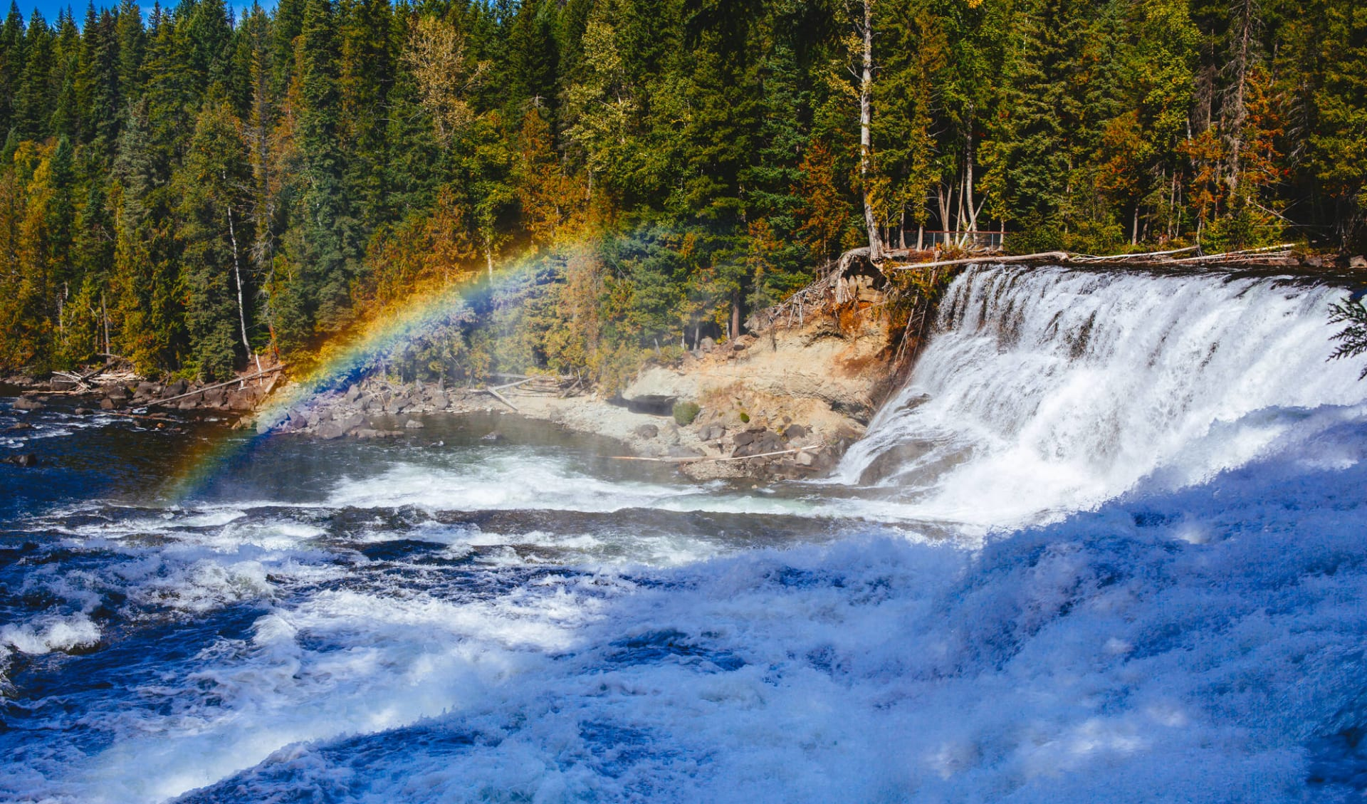 Le meilleur de Banff et Jasper: Kanada - Wells Gray Provincial Park - Dawson Wasserfälle