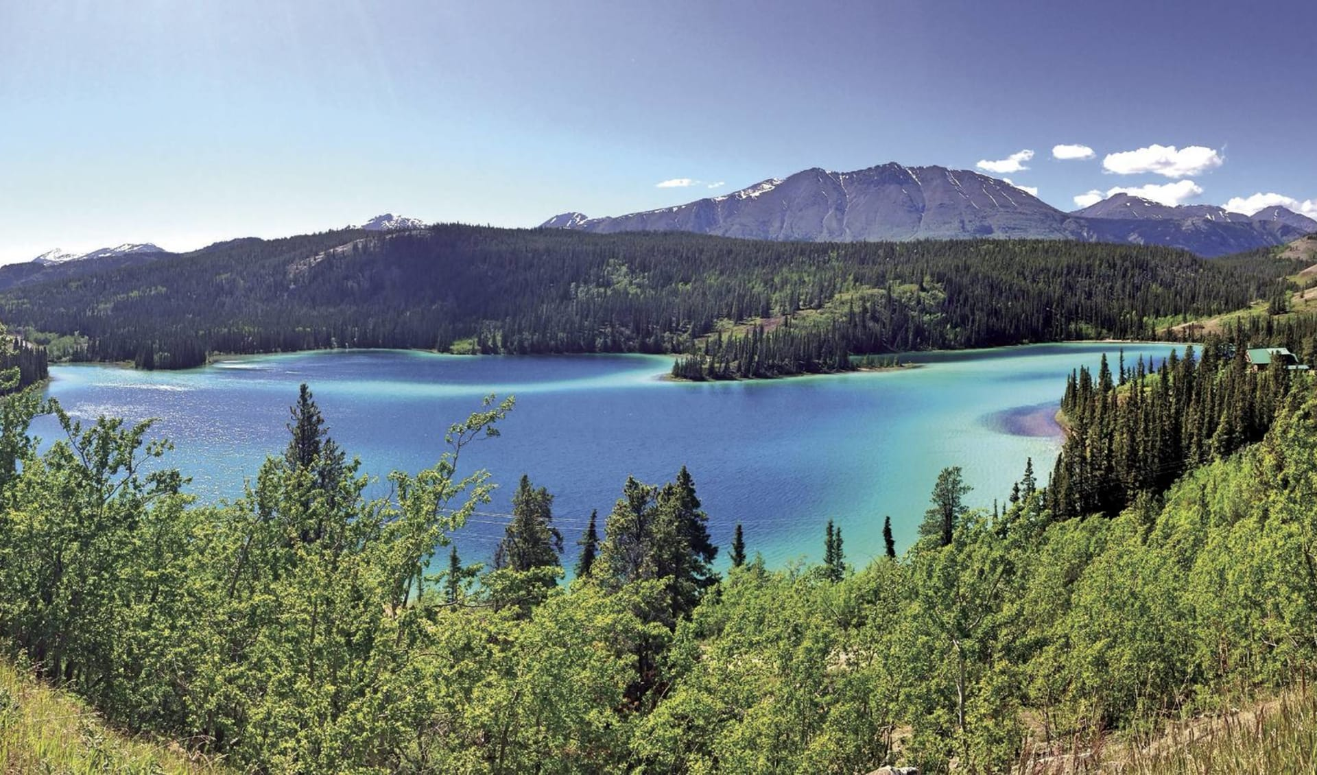 Discover Yukon & Northwest Territories ab Whitehorse: Kanada - Yukon - Emerald Lake