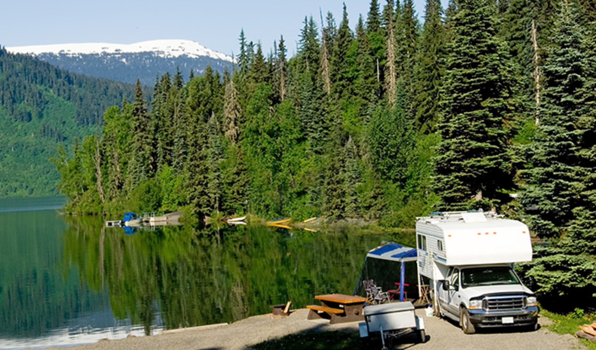 Wohnmobil, Camping, Kanada