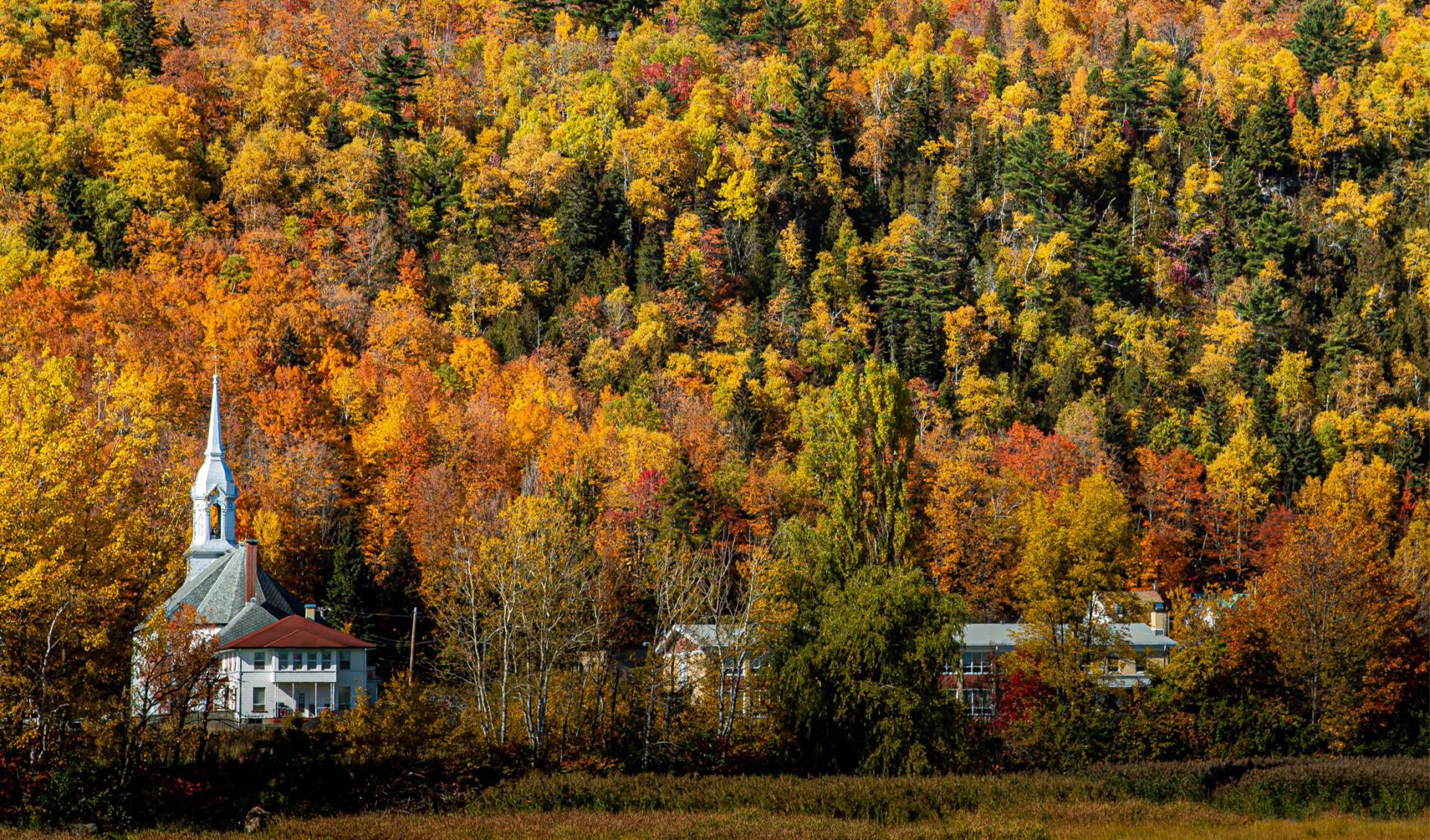 Quebec Charlevoix Autumn automne Canada