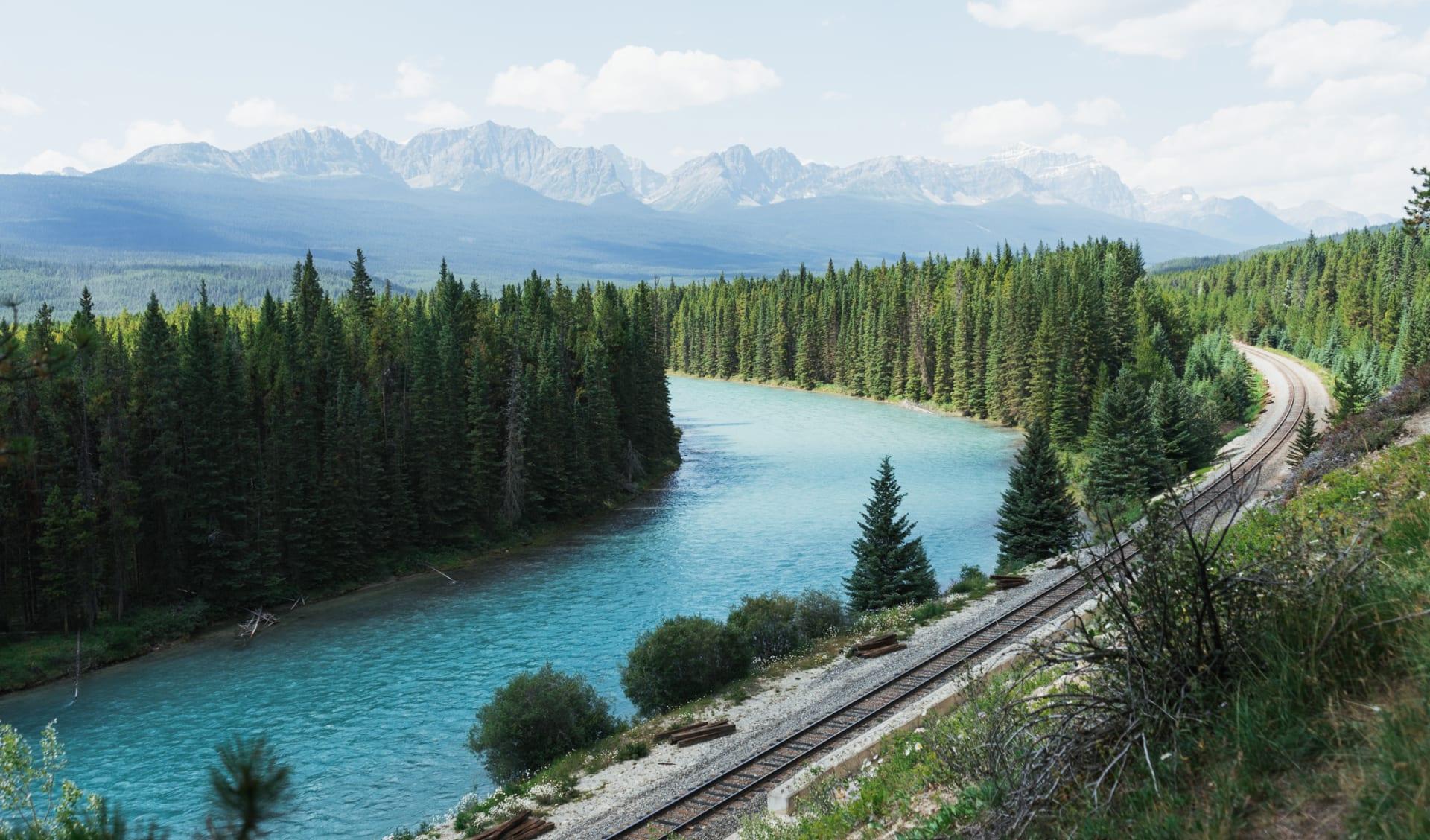 Morats Curve, Banff, AB, Canada