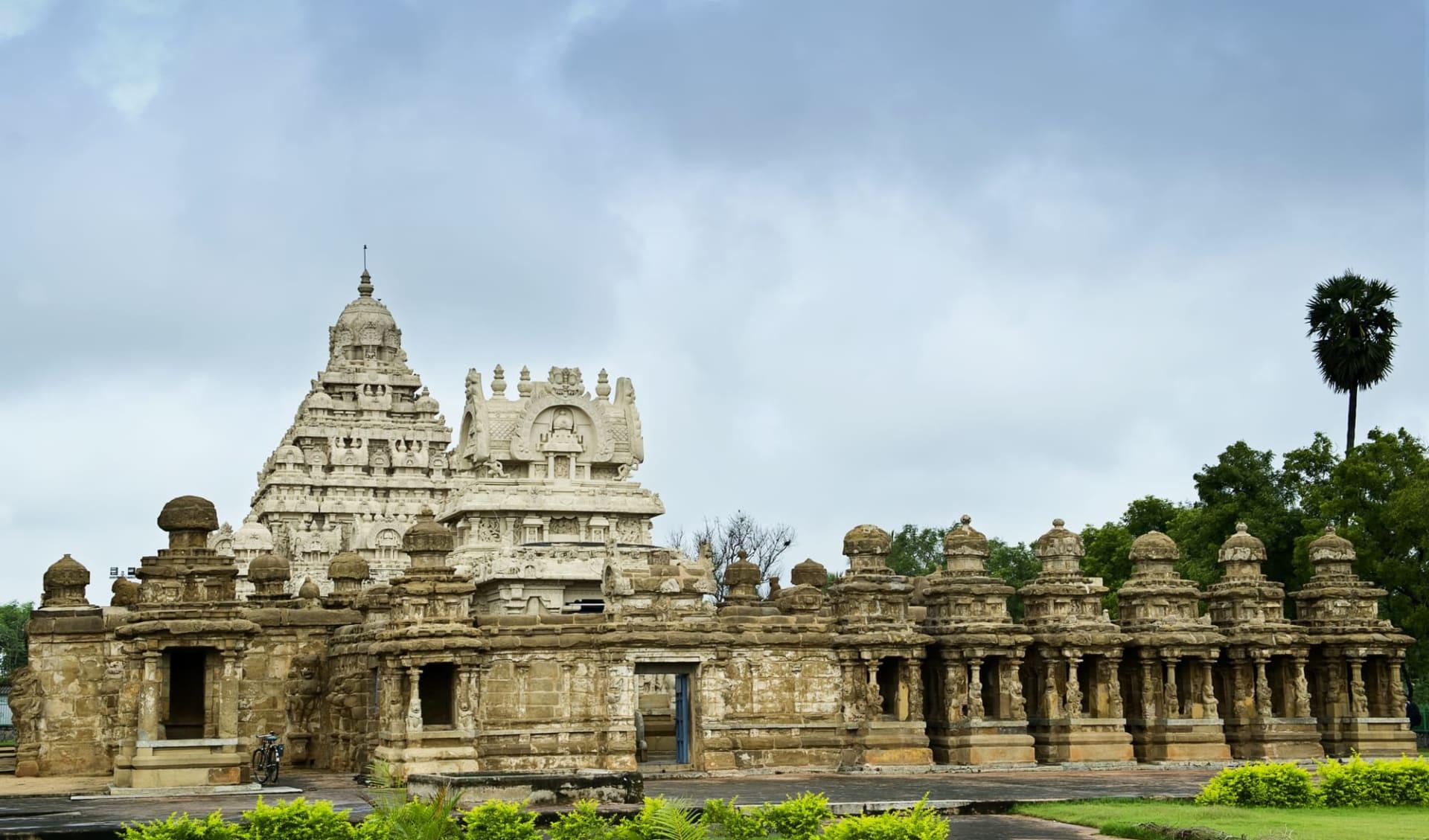 Höhepunkte Südindiens ab Chennai: Kanchipuram: Kailasanathar temple