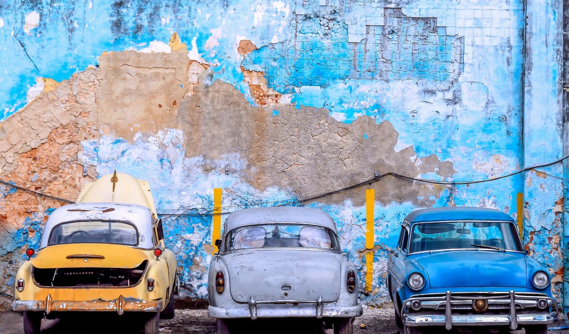 Portrait einer Insel ab Havanna: Karibik_Havanna_Cars