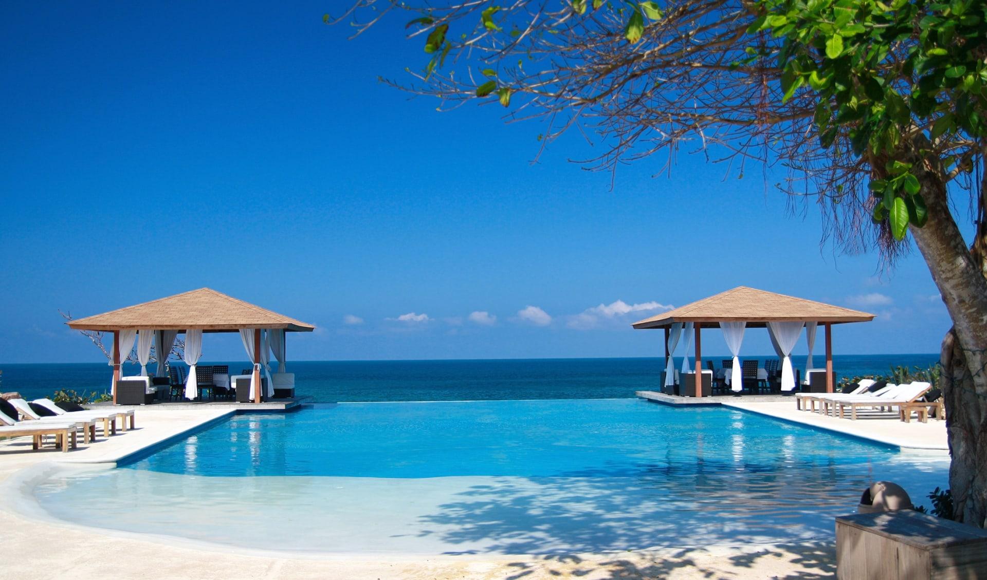 Zwei luxuriöse Ferienhäuser mit Pool in der Nähe des Ozeans, Dominikanische Republik