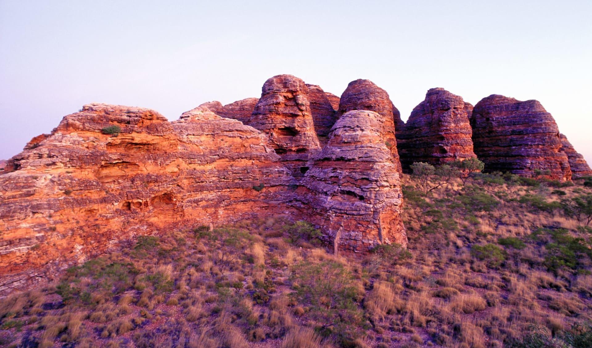 Outback Contrasts (AAT Kings) ab Alice Springs: Kata Tjuta - Felsdome