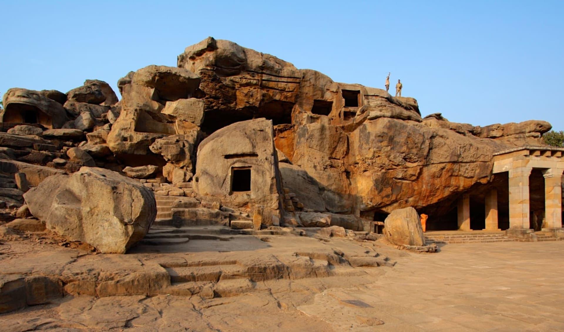 Die Tempel von Odisha ab Bhubaneswar: Khandagiri