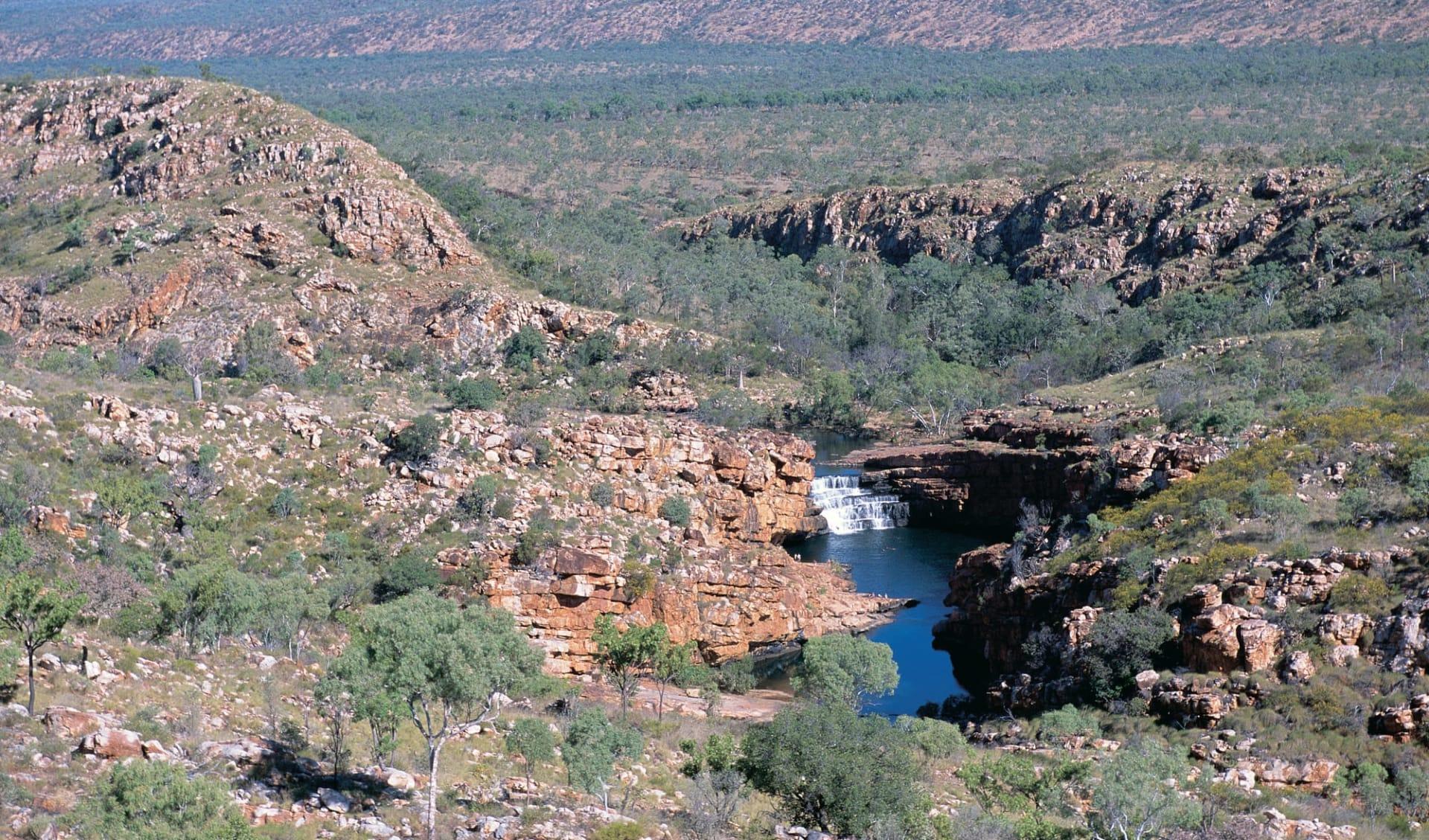 Kimberley Trail von Darwin bis Broome: Bell Gorge