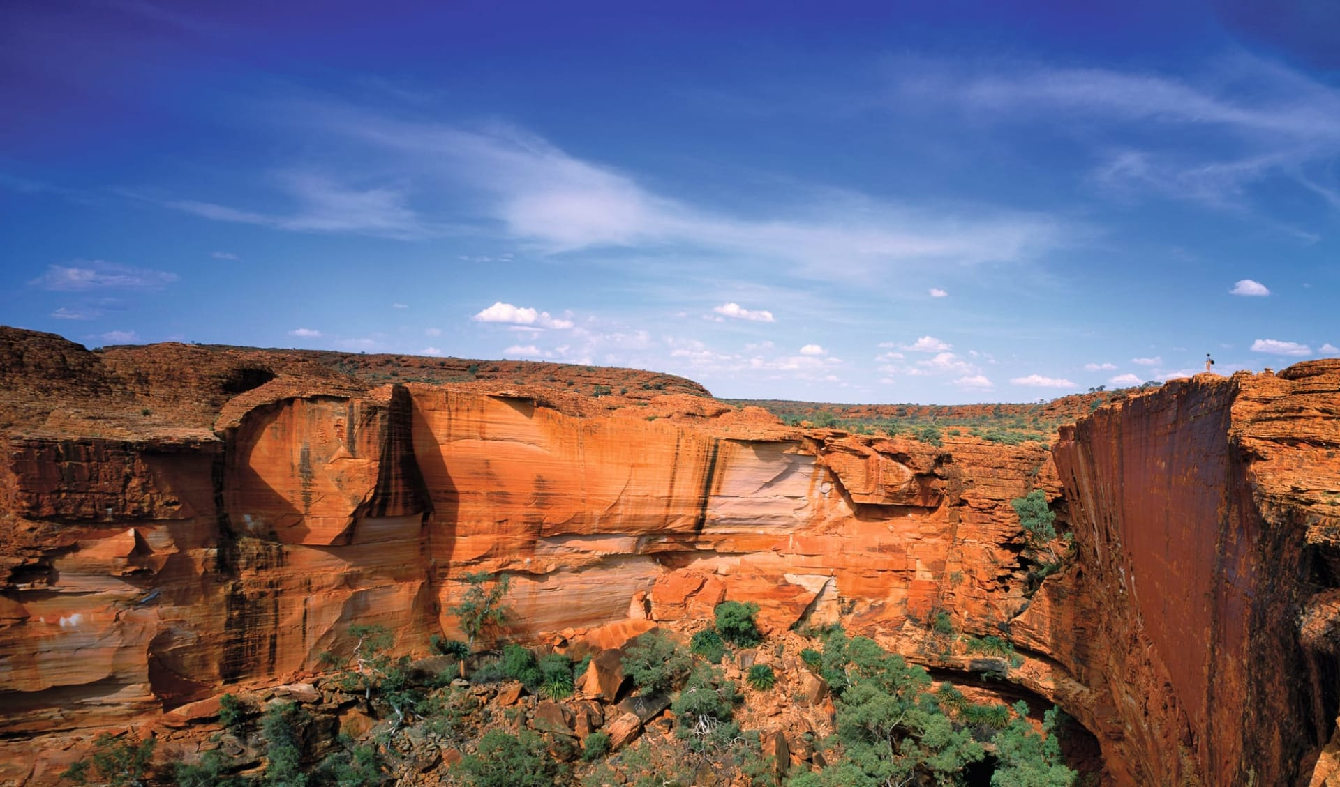 Red Centre Wanderer mit 4x4 ab Alice Springs: Kings Canyon - Felskessel