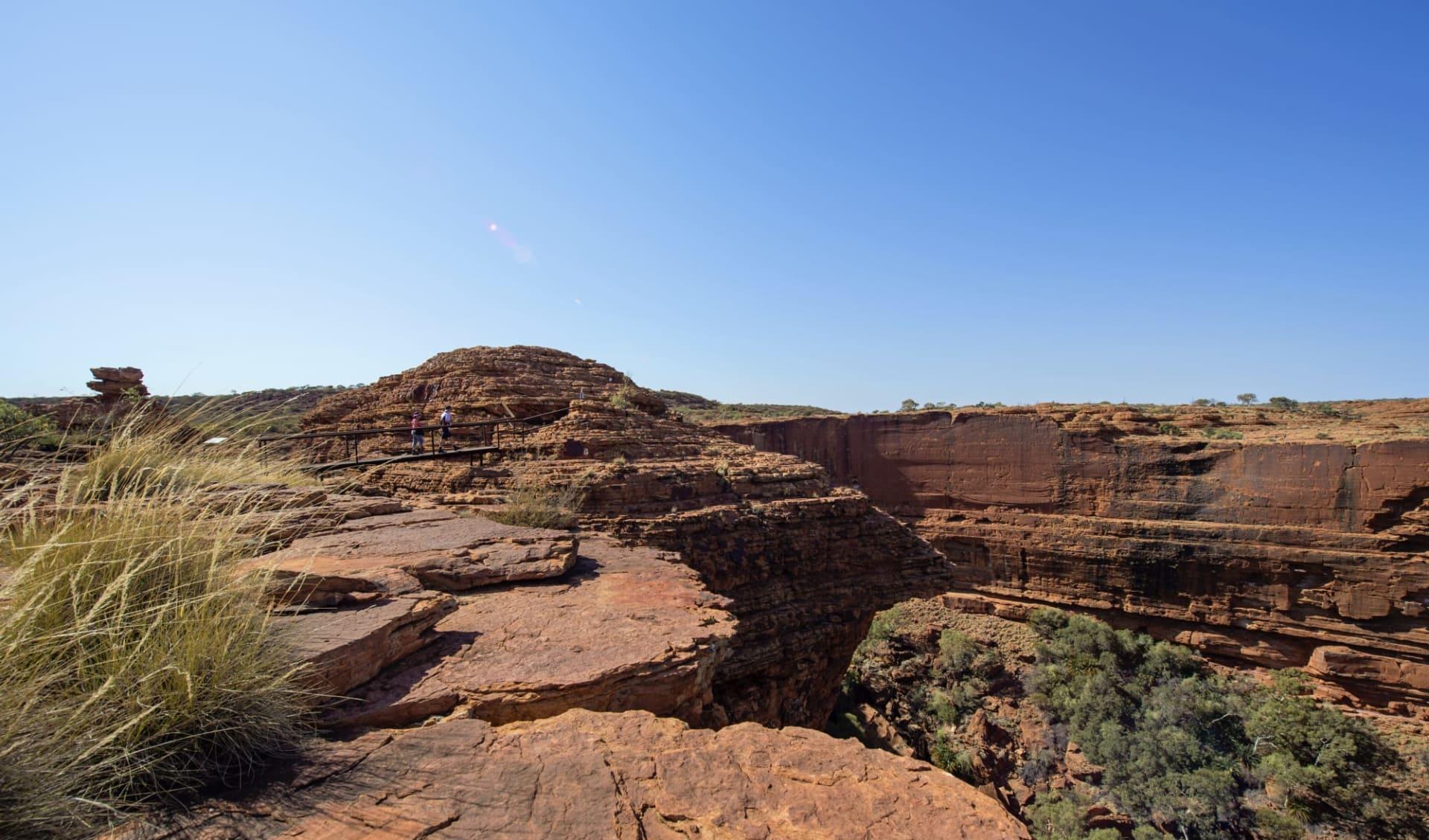 Rock 'n' Canyon ab Alice Springs: Kings Canyon - Rim Walk