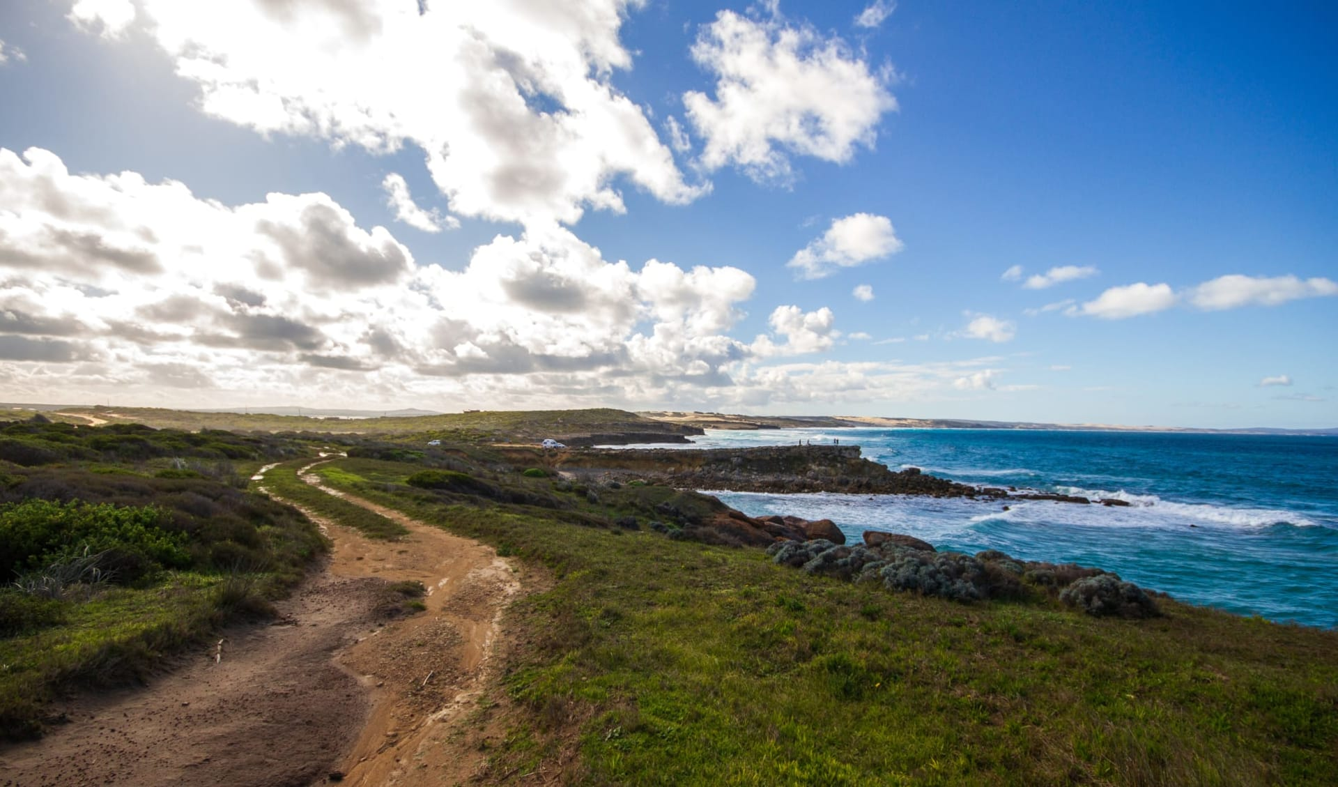 Ocean to Outback Odyssey ab Port Lincoln: Küstenlinie des Nationalparks Port Lincoln