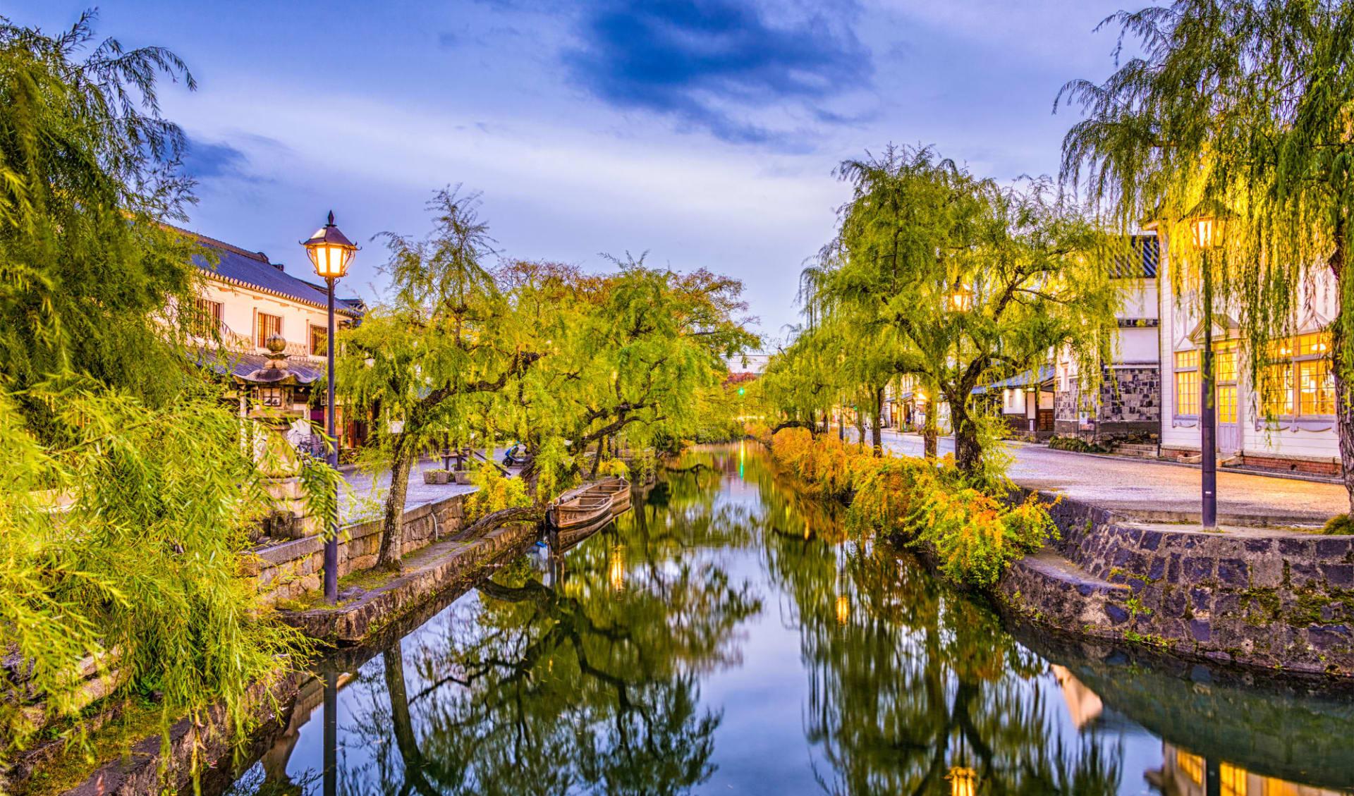 Entdeckungen im Westen Japans ab Kyoto: Kurashiki